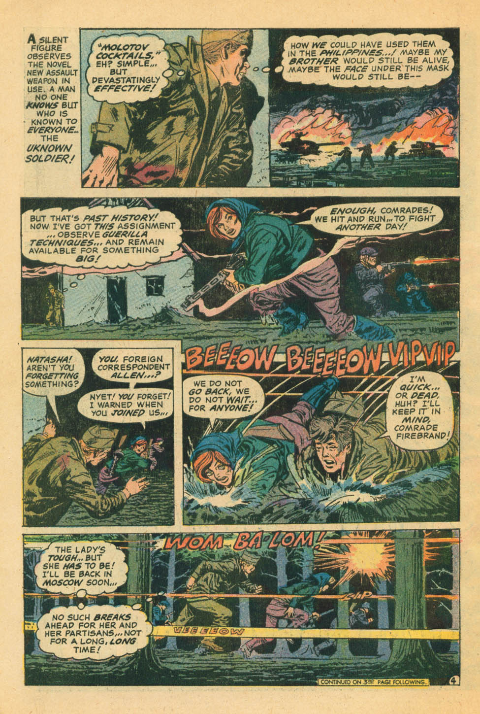 Read online Star Spangled War Stories (1952) comic -  Issue #172 - 4