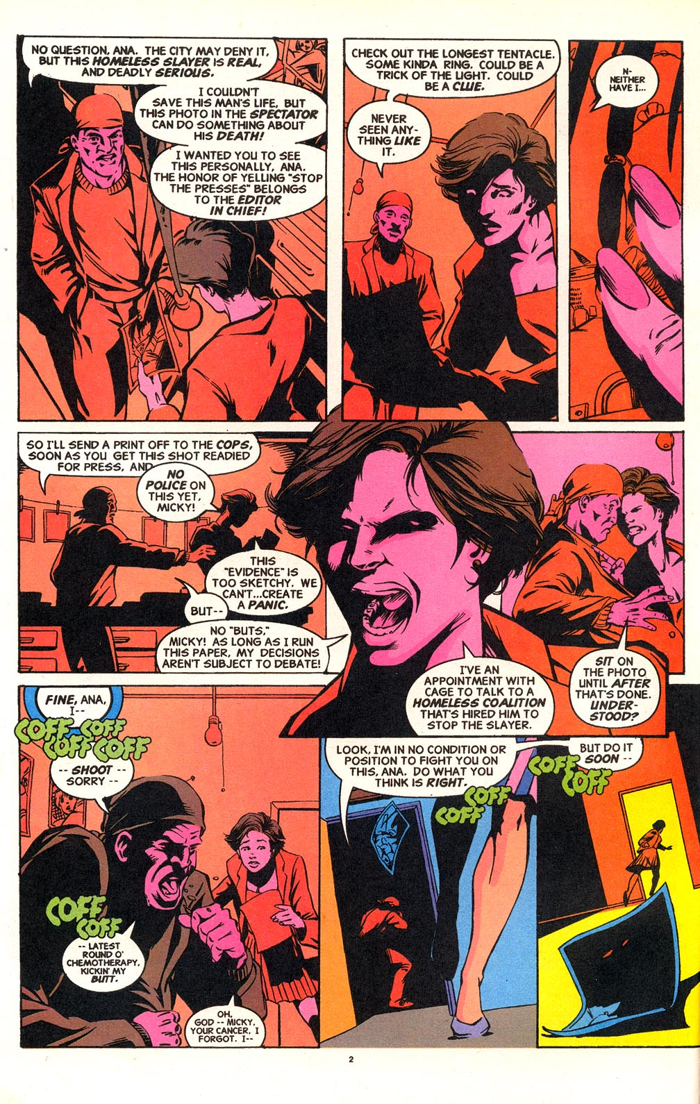 Cage (1992) issue 18 - Page 3