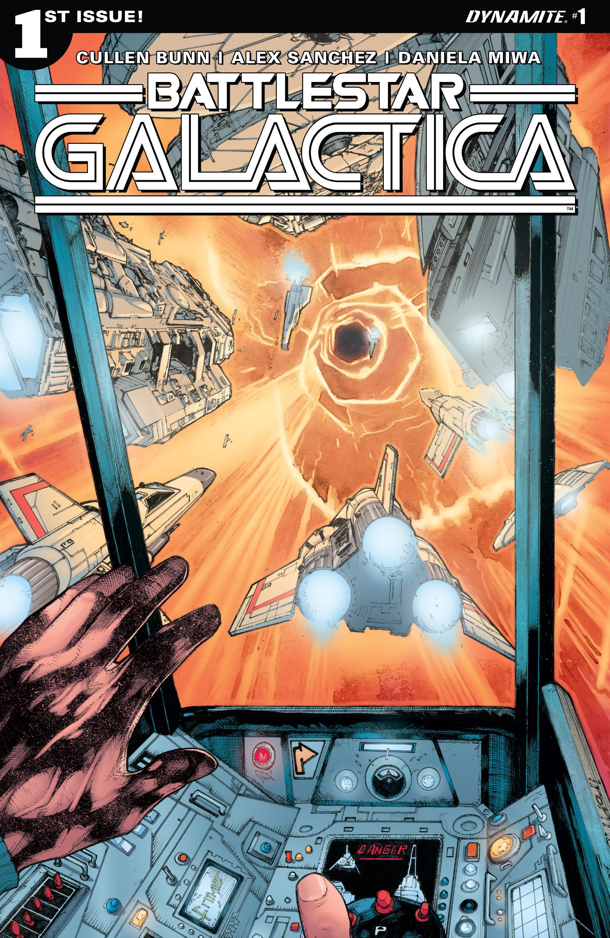 Classic Battlestar Galactica (2016) 1 Page 1