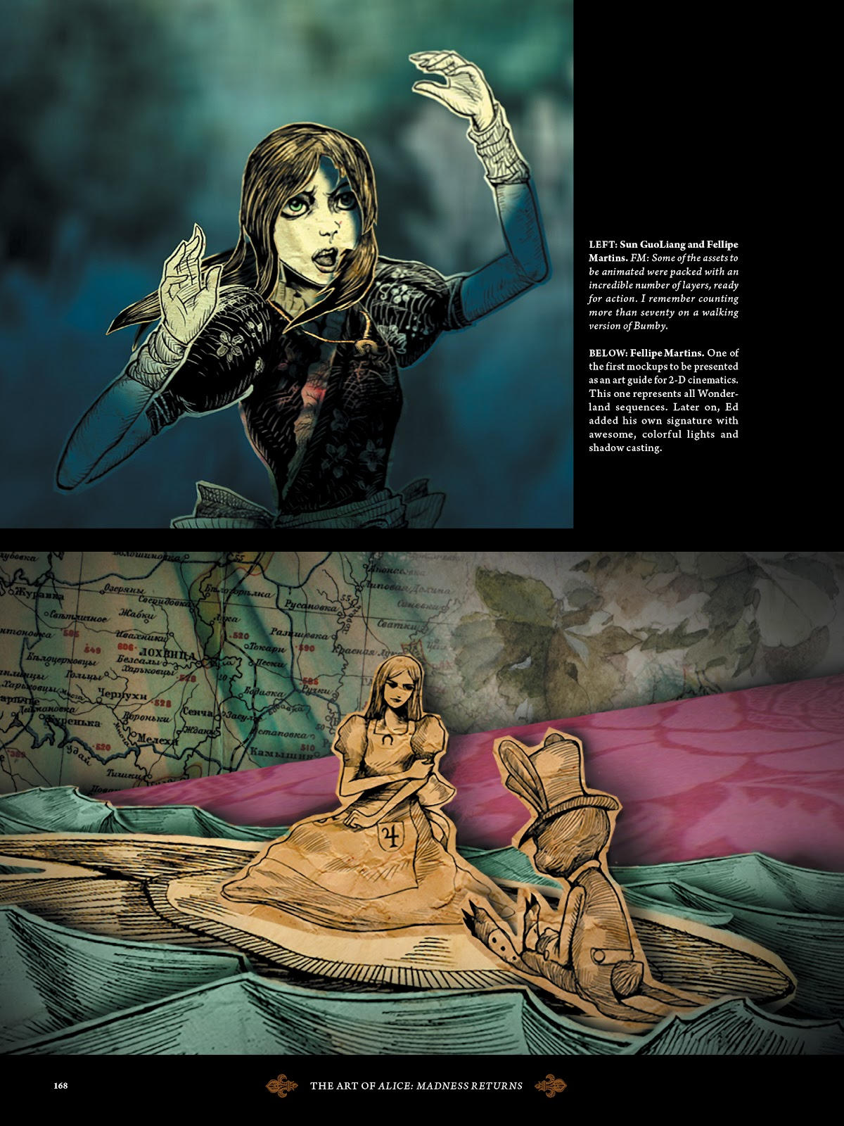 Read online The Art of Alice: Madness Returns comic -  Issue # TPB (Part 2) - 60