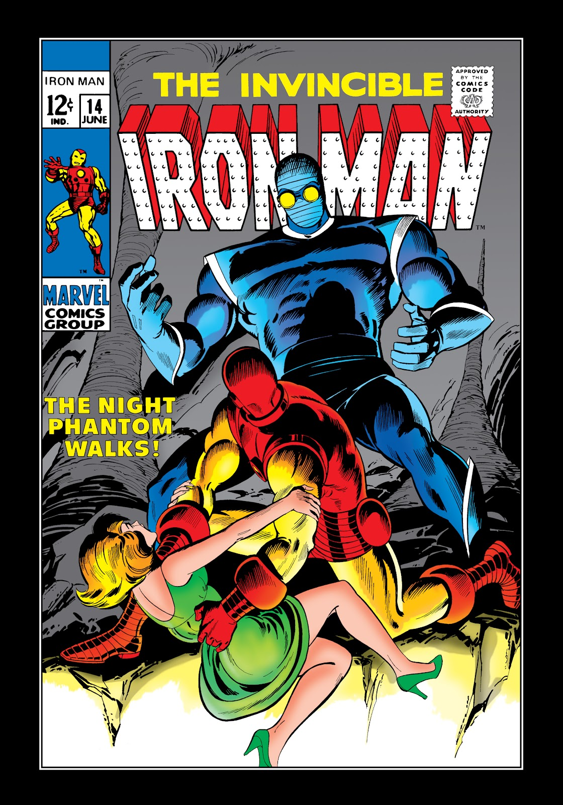 Read online Marvel Masterworks: The Invincible Iron Man comic -  Issue # TPB 6 (Part 1) - 6