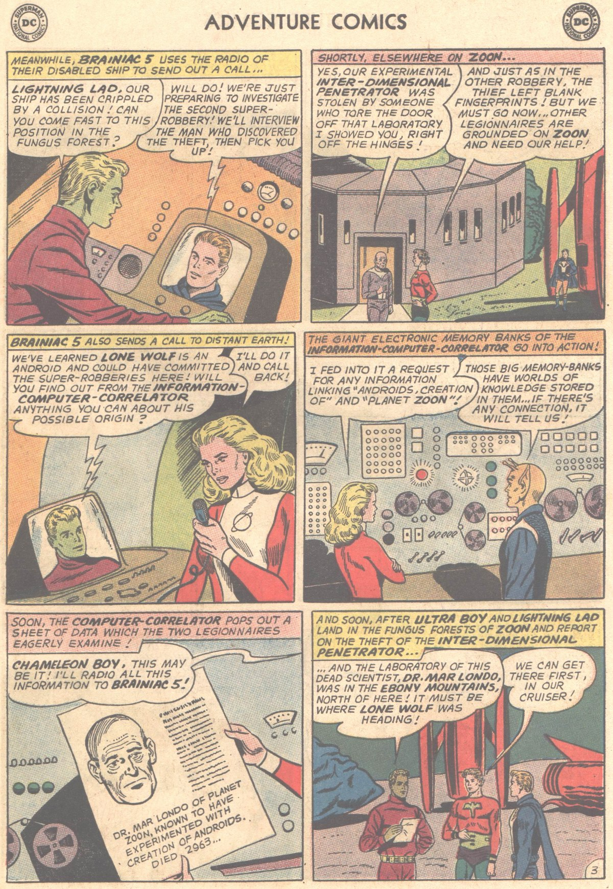 Read online Adventure Comics (1938) comic -  Issue #327 - 12