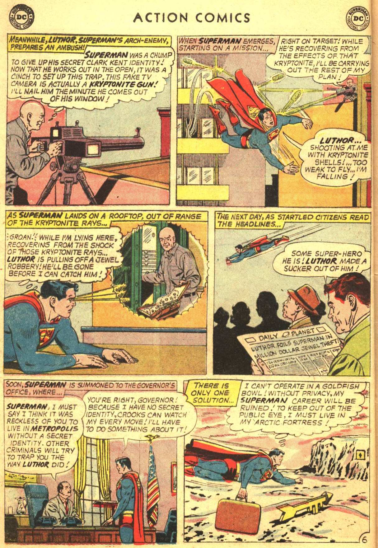 Read online Action Comics (1938) comic -  Issue #305 - 8