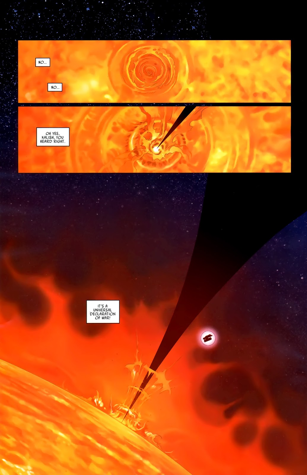 Read online Universal War One: Revelations comic -  Issue #3 - 38