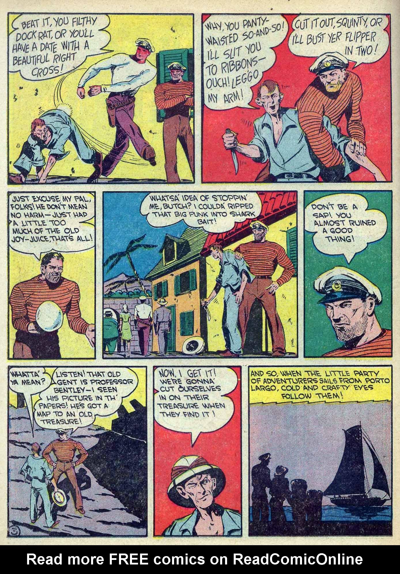 Read online Adventure Comics (1938) comic -  Issue #70 - 42