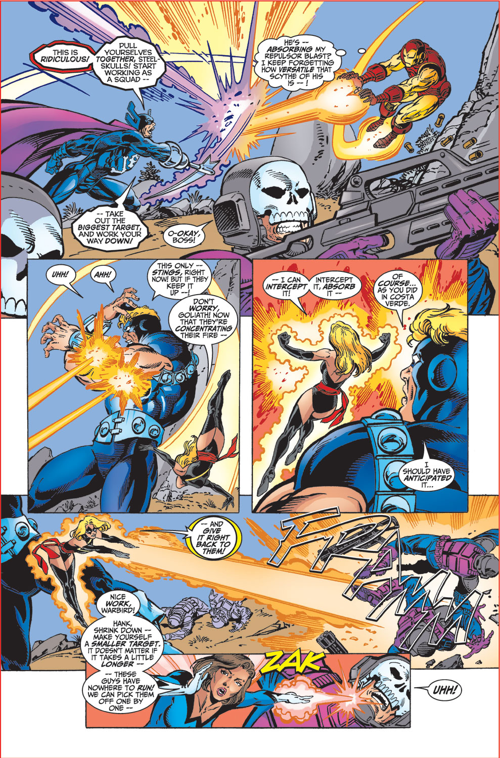 Read online Avengers (1998) comic -  Issue #32 - 20