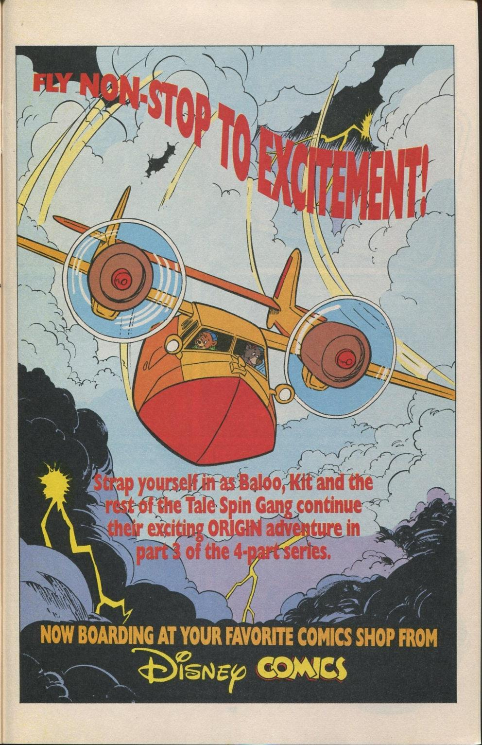 Read online Disney's Tale Spin Limited Series: ''Take Off'' comic -  Issue #3 - 32