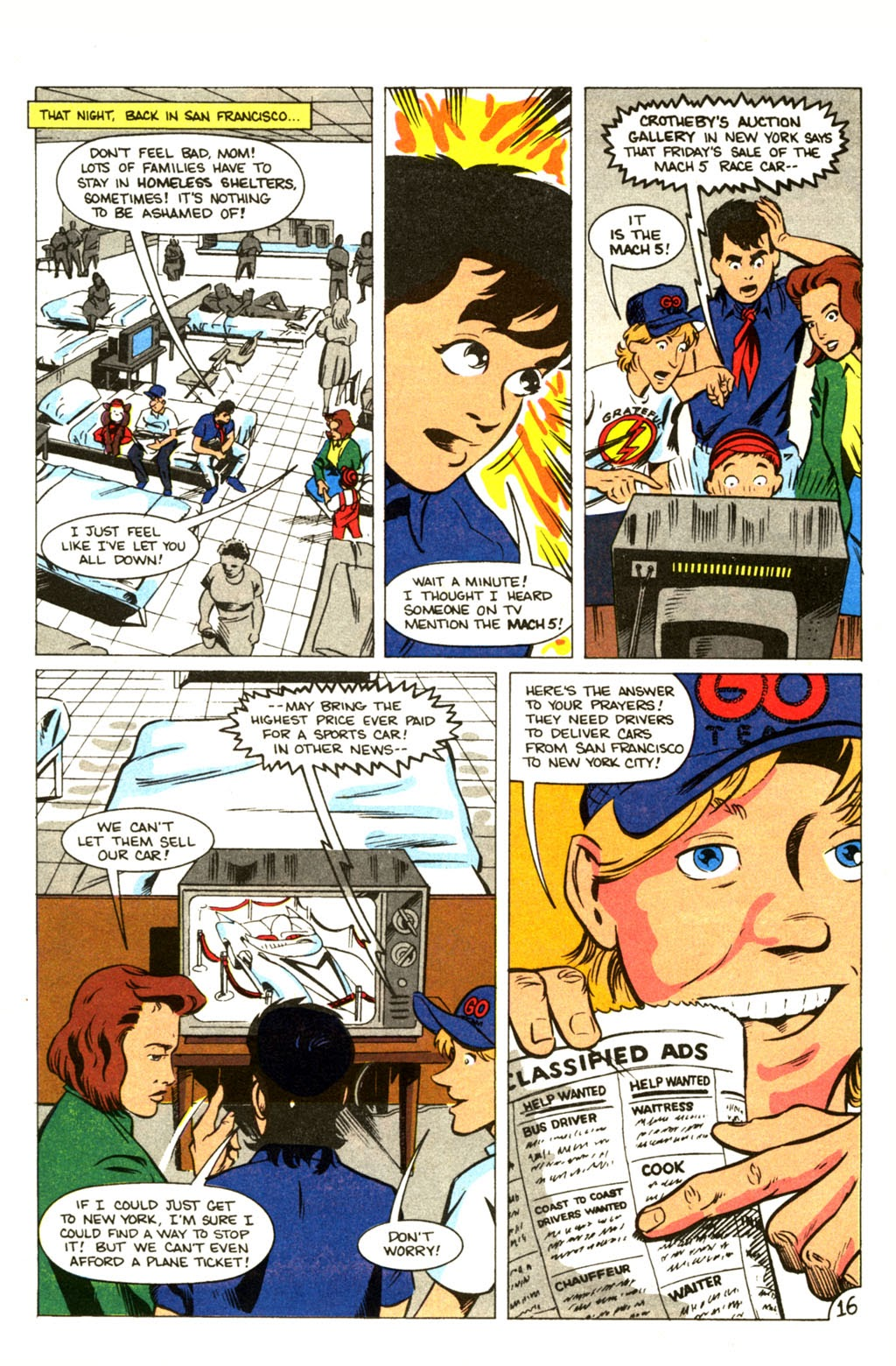 Speed Racer (1987) issue 30 - Page 21