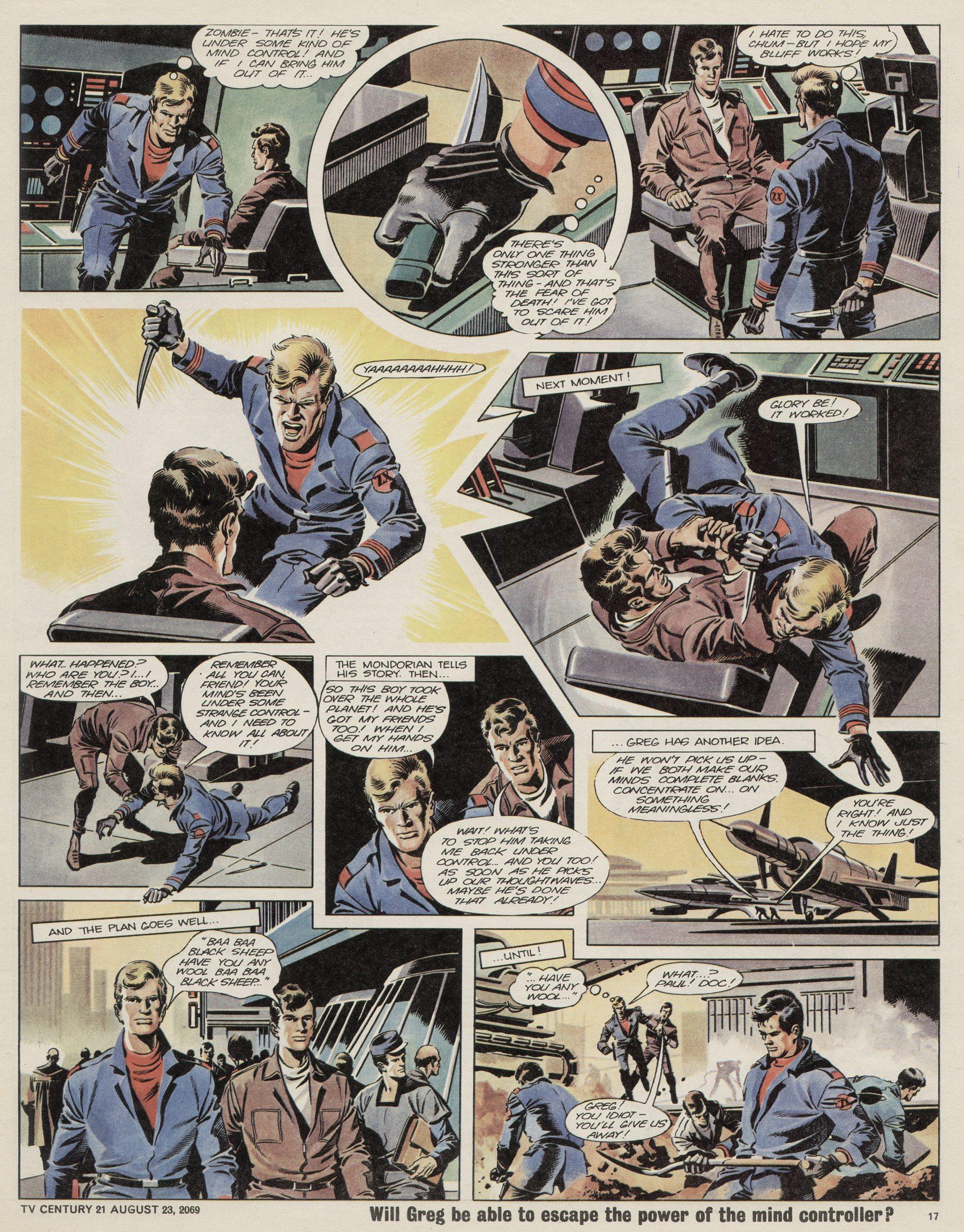 Read online TV Century 21 (TV 21) comic -  Issue #240 - 17