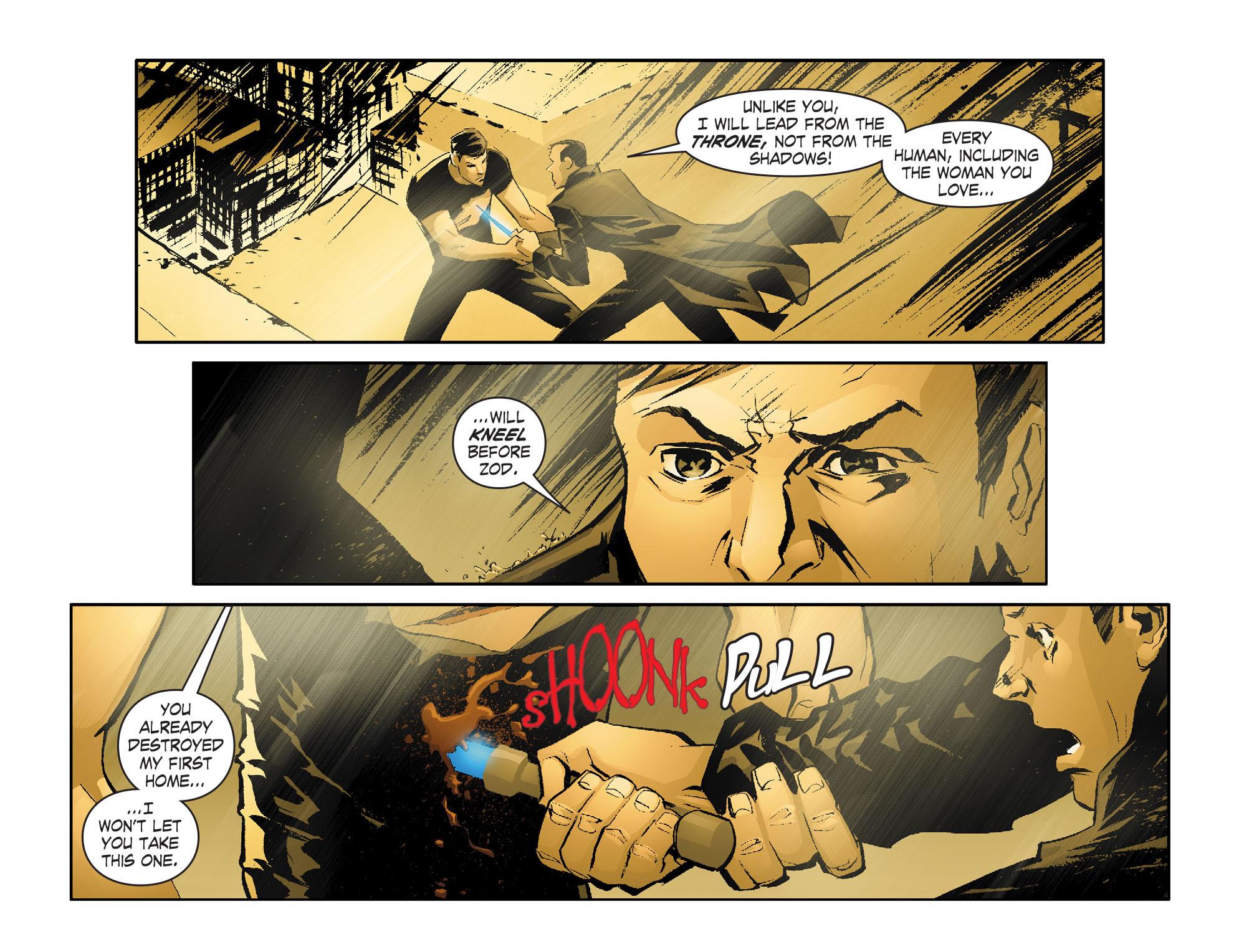 Read online Smallville: Lantern [I] comic -  Issue #1 - 5
