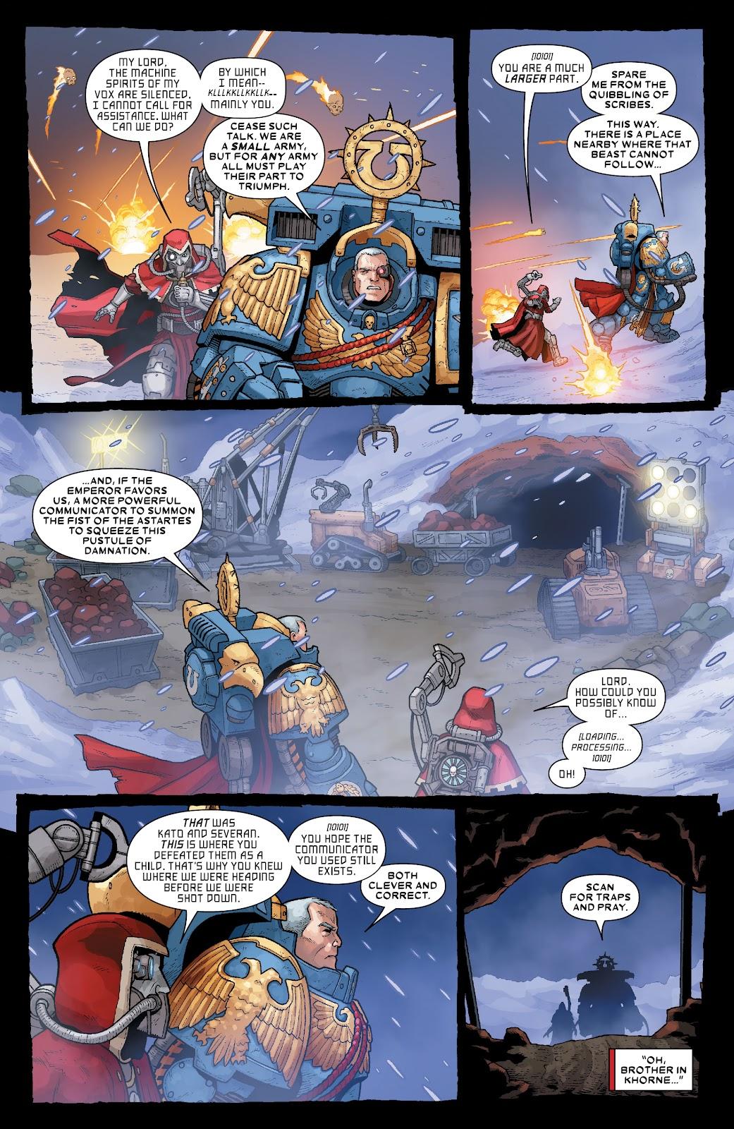 Warhammer 40,000: Marneus Calgar issue 5 - Page 7
