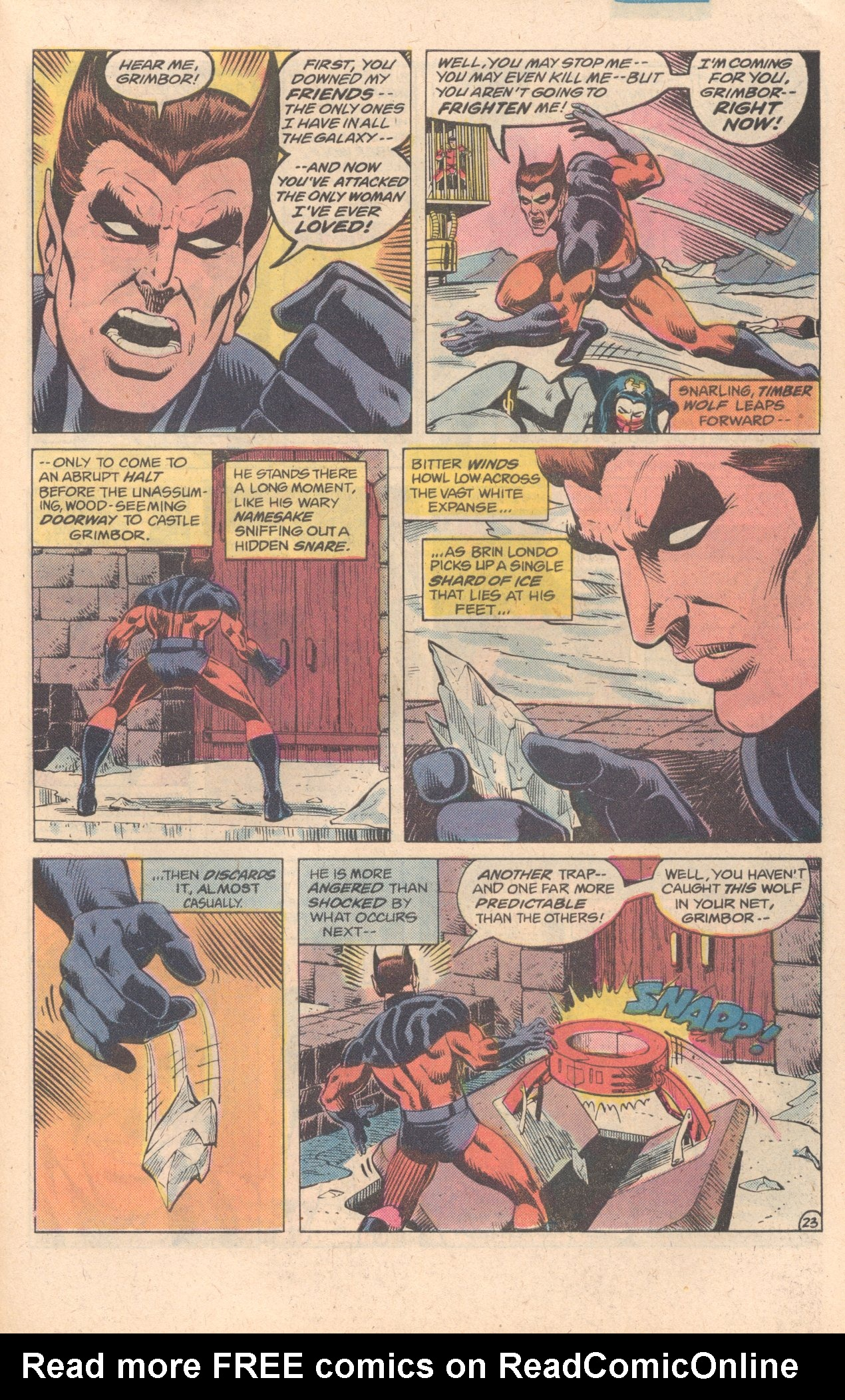 Legion of Super-Heroes (1980) 278 Page 23