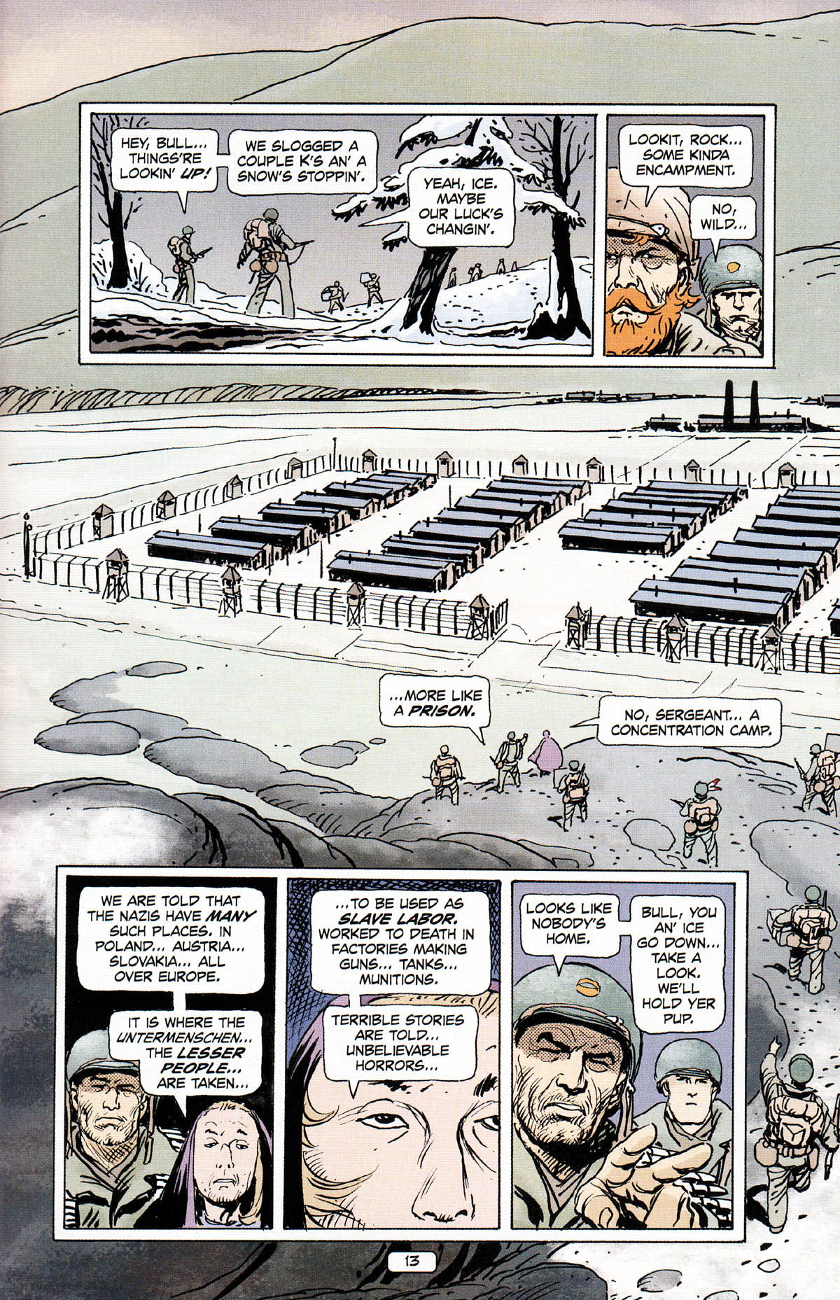 Read online Sgt. Rock: The Prophecy comic -  Issue #3 - 14