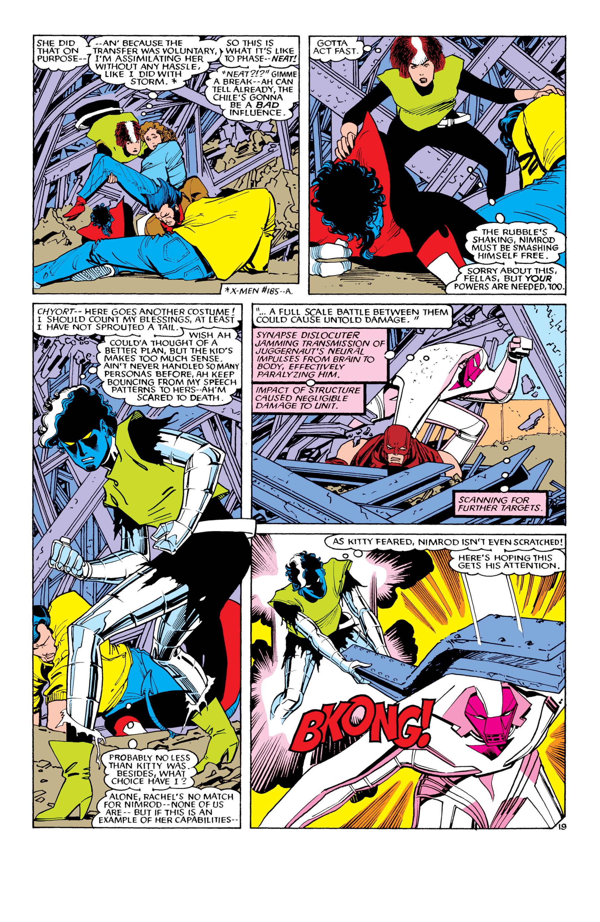 Read online Uncanny X-Men (1963) comic -  Issue #194 - 20
