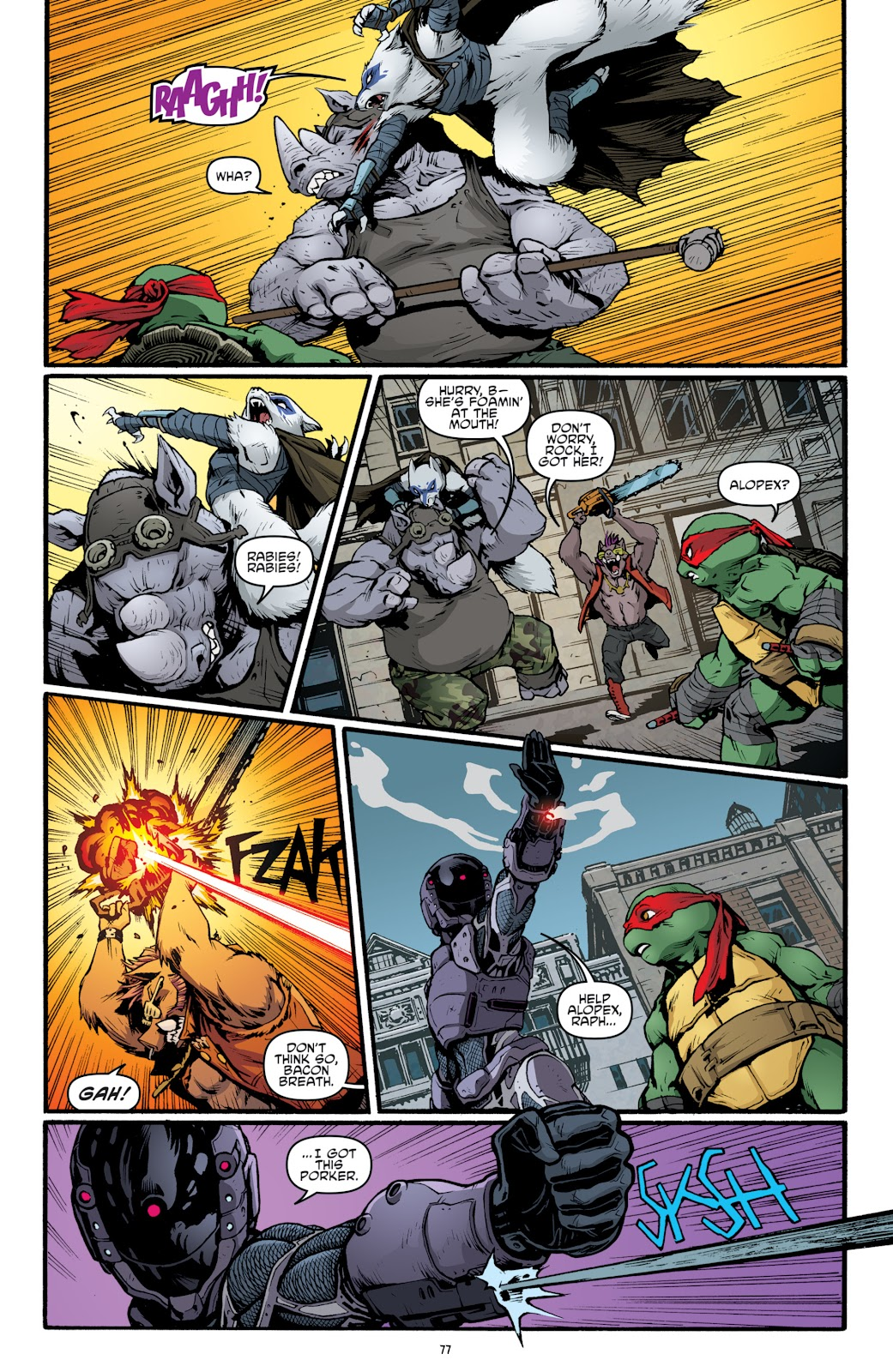 Read online Teenage Mutant Ninja Turtles: The IDW Collection comic -  Issue # TPB 5 (Part 2) - 55