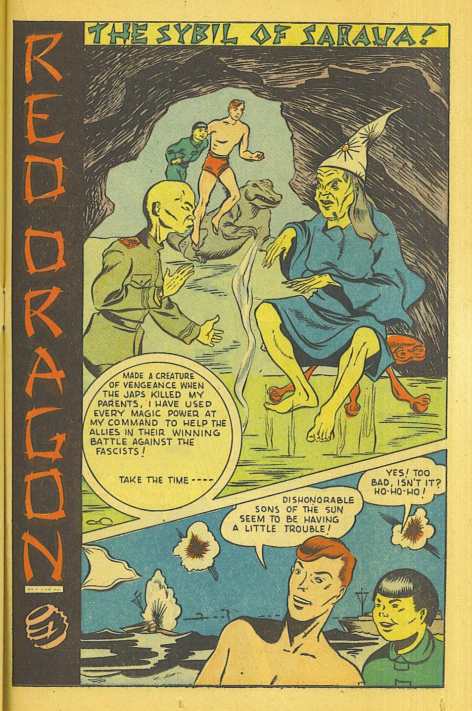 Read online Super-Magician Comics comic -  Issue #39 - 30