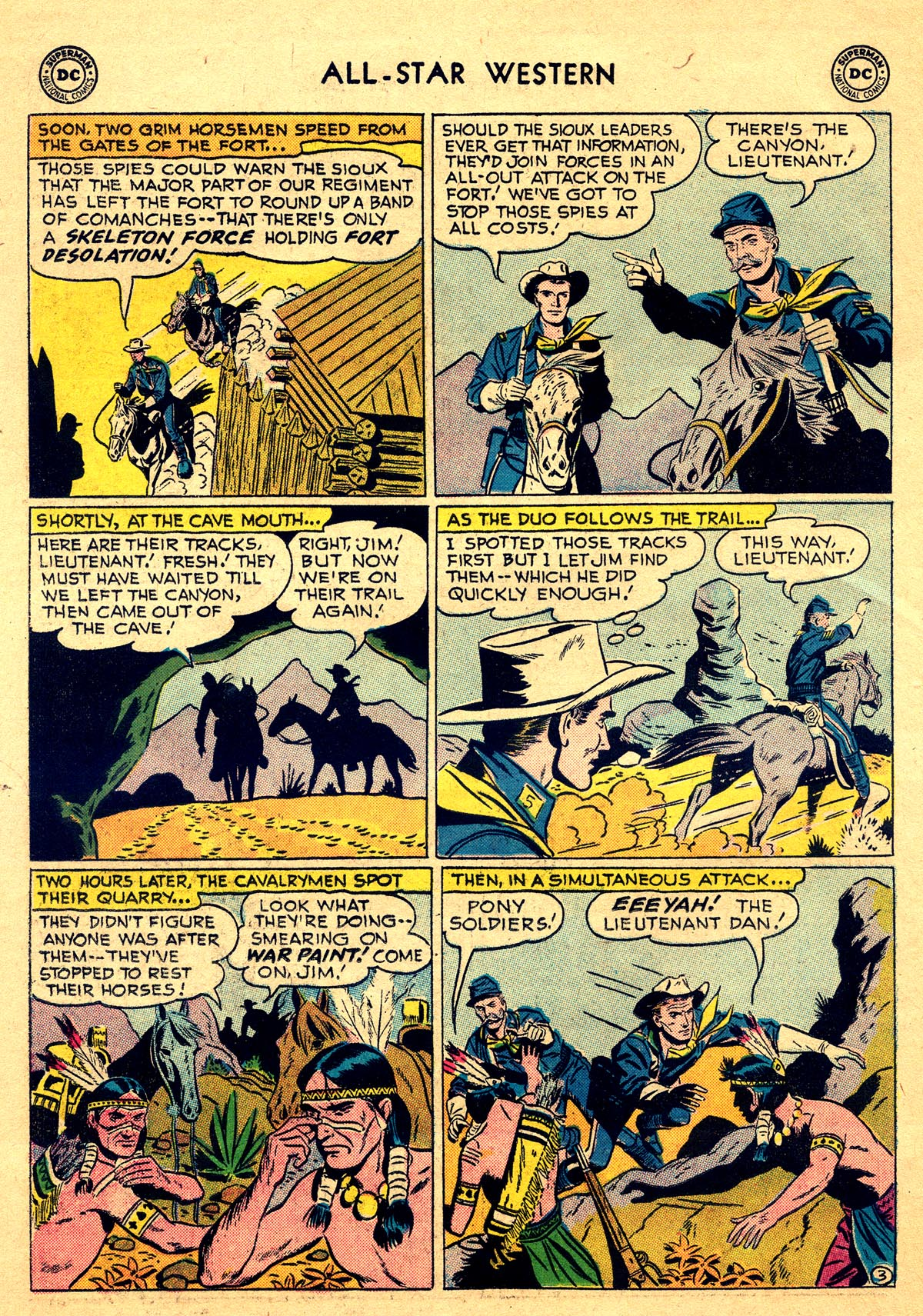 Read online All-Star Western (1951) comic -  Issue #93 - 22