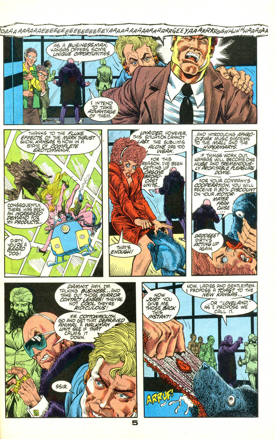 Read online American Flagg! comic -  Issue #22 - 27