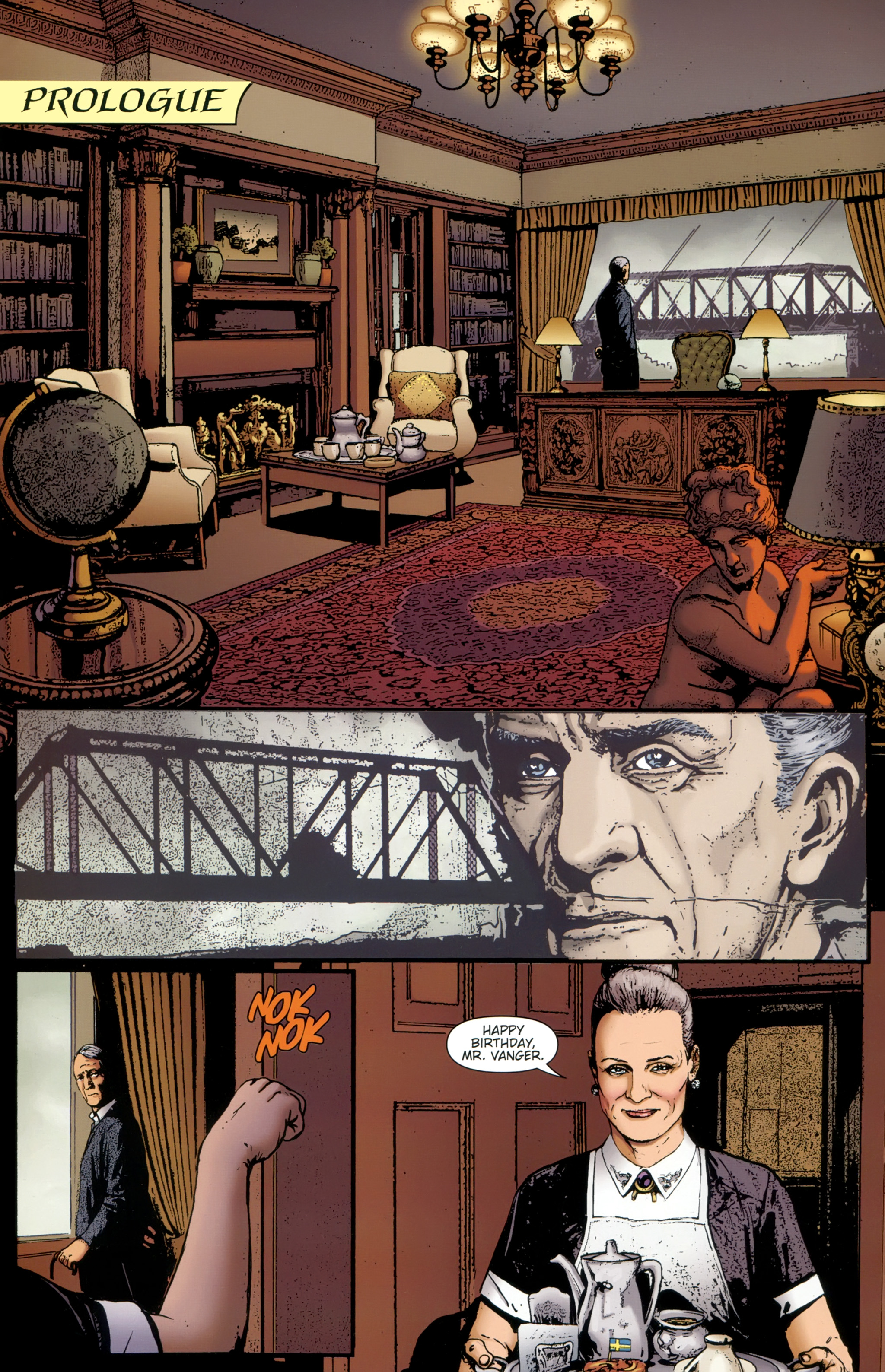 Read online The Girl With the Dragon Tattoo comic -  Issue # TPB 1 - 8