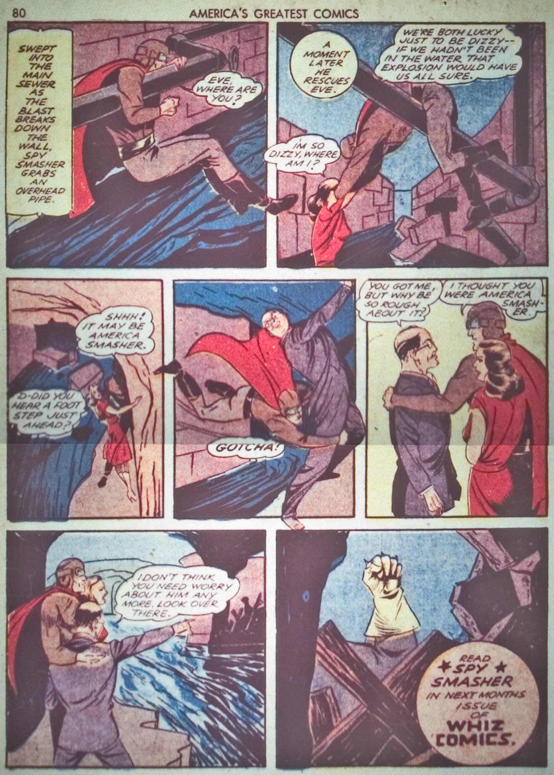 Read online America's Greatest Comics comic -  Issue #1 - 83