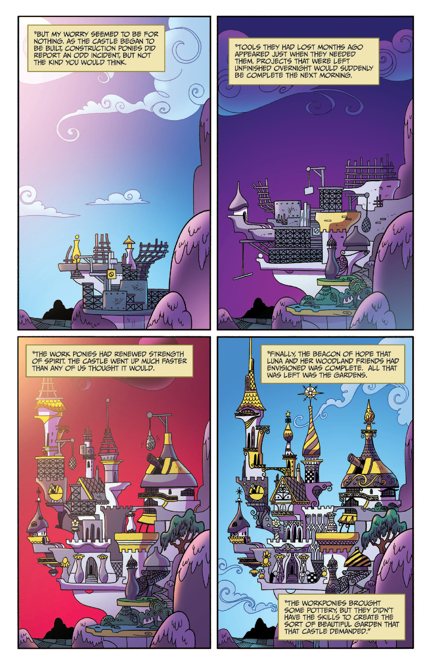 Read online My Little Pony: Legends of Magic comic -  Issue #3 - 19