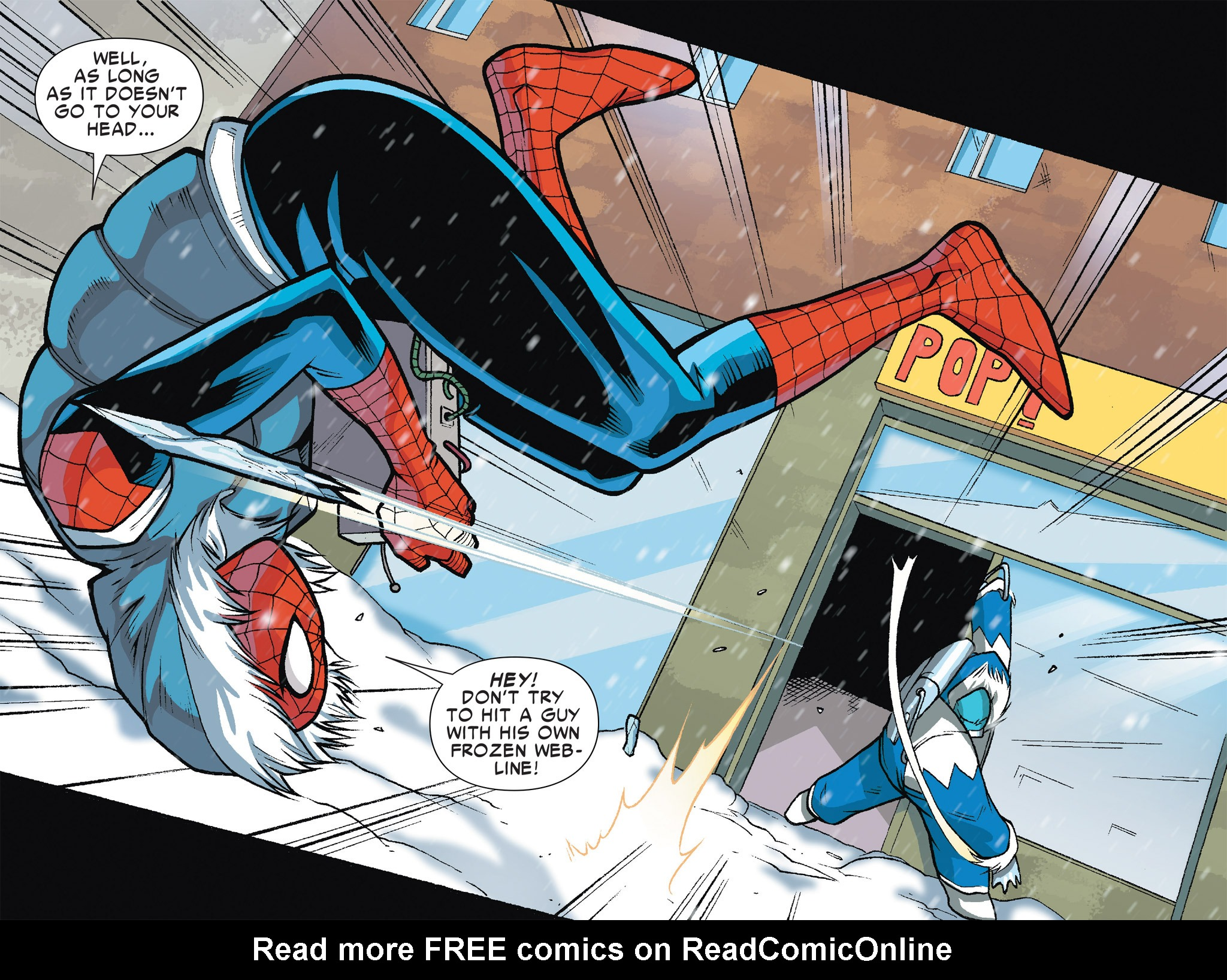 Read online Ultimate Spider-Man (Infinite Comics) (2016) comic -  Issue #7 - 42