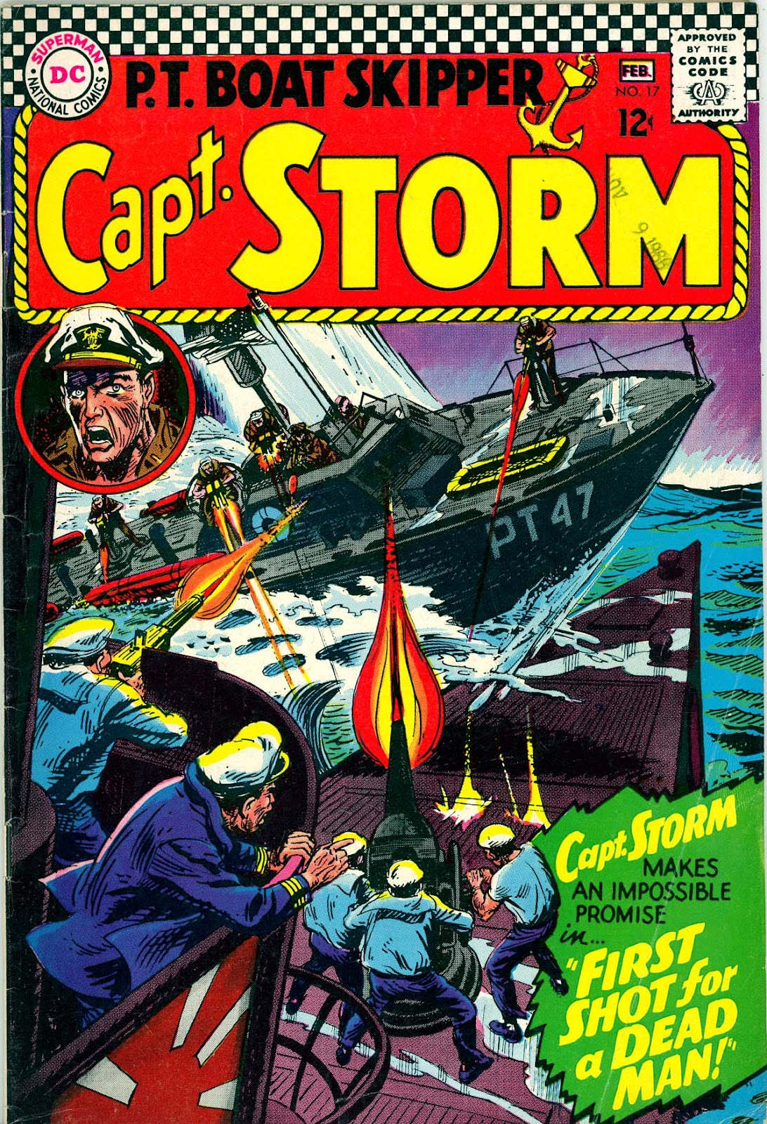 Capt. Storm issue 17 - Page 1