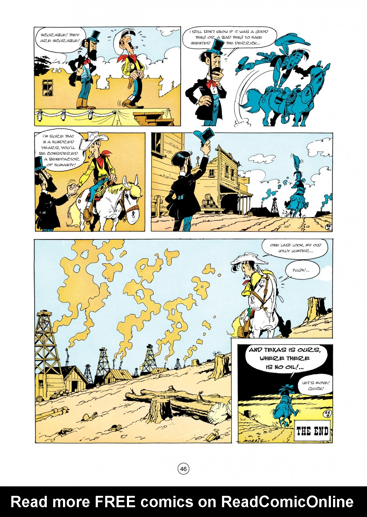 A Lucky Luke Adventure 5 Page 47