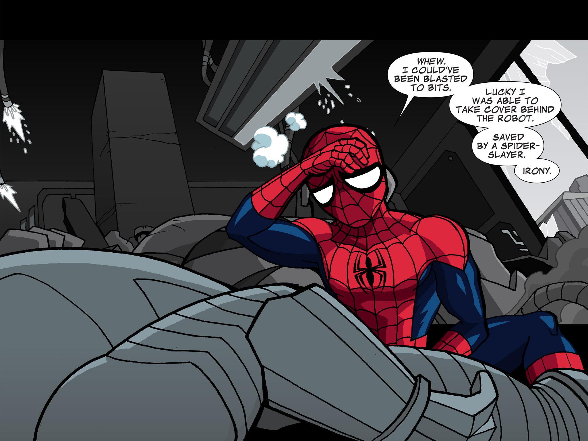 Read online Ultimate Spider-Man (Infinite Comics) (2015) comic -  Issue #5 - 8