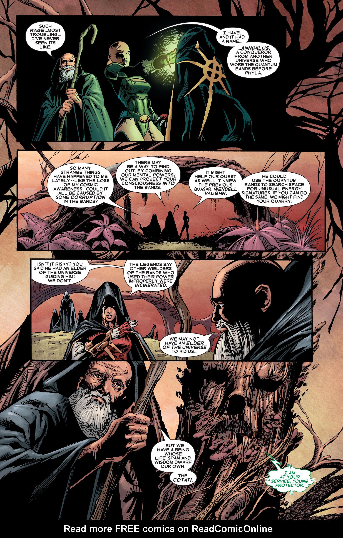 Read online Annihilation: Conquest - Quasar comic -  Issue #1 - 15