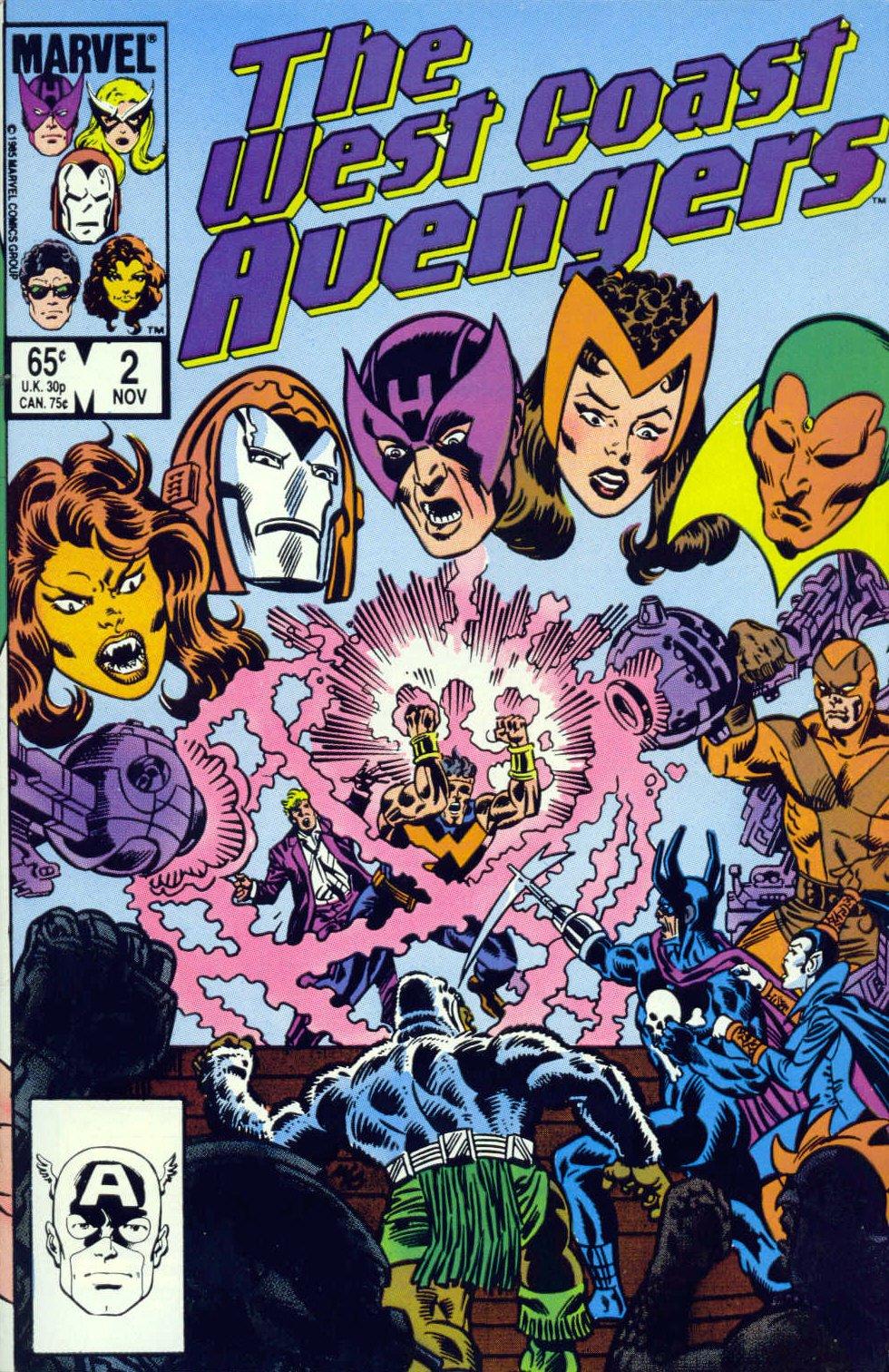 West Coast Avengers (1985) 2 Page 1
