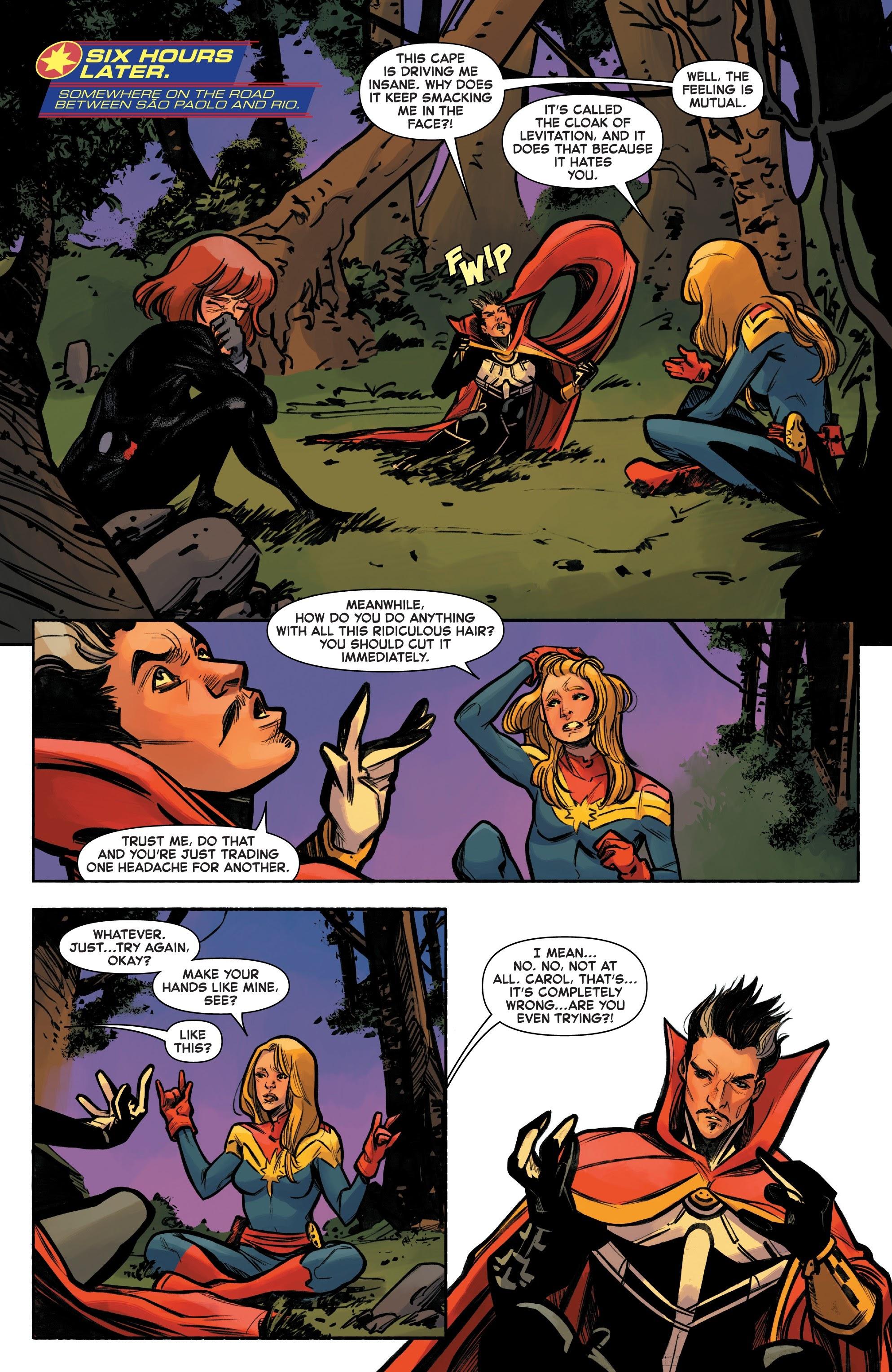 Read online Captain Marvel (2019) comic -  Issue #6 - 19