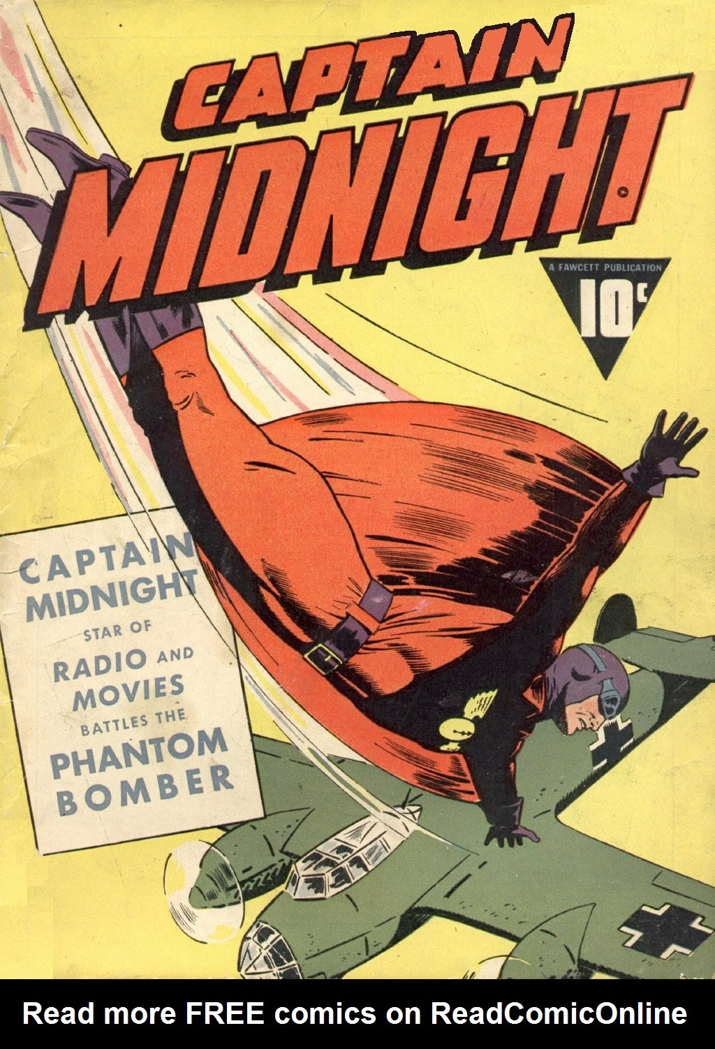 Captain Midnight (1942) issue 3 - Page 1