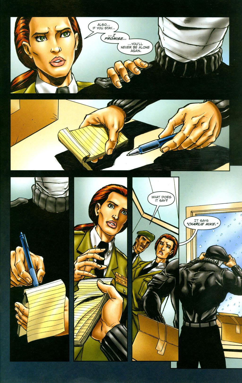 Read online Snake Eyes: Declassified comic -  Issue #6 - 24
