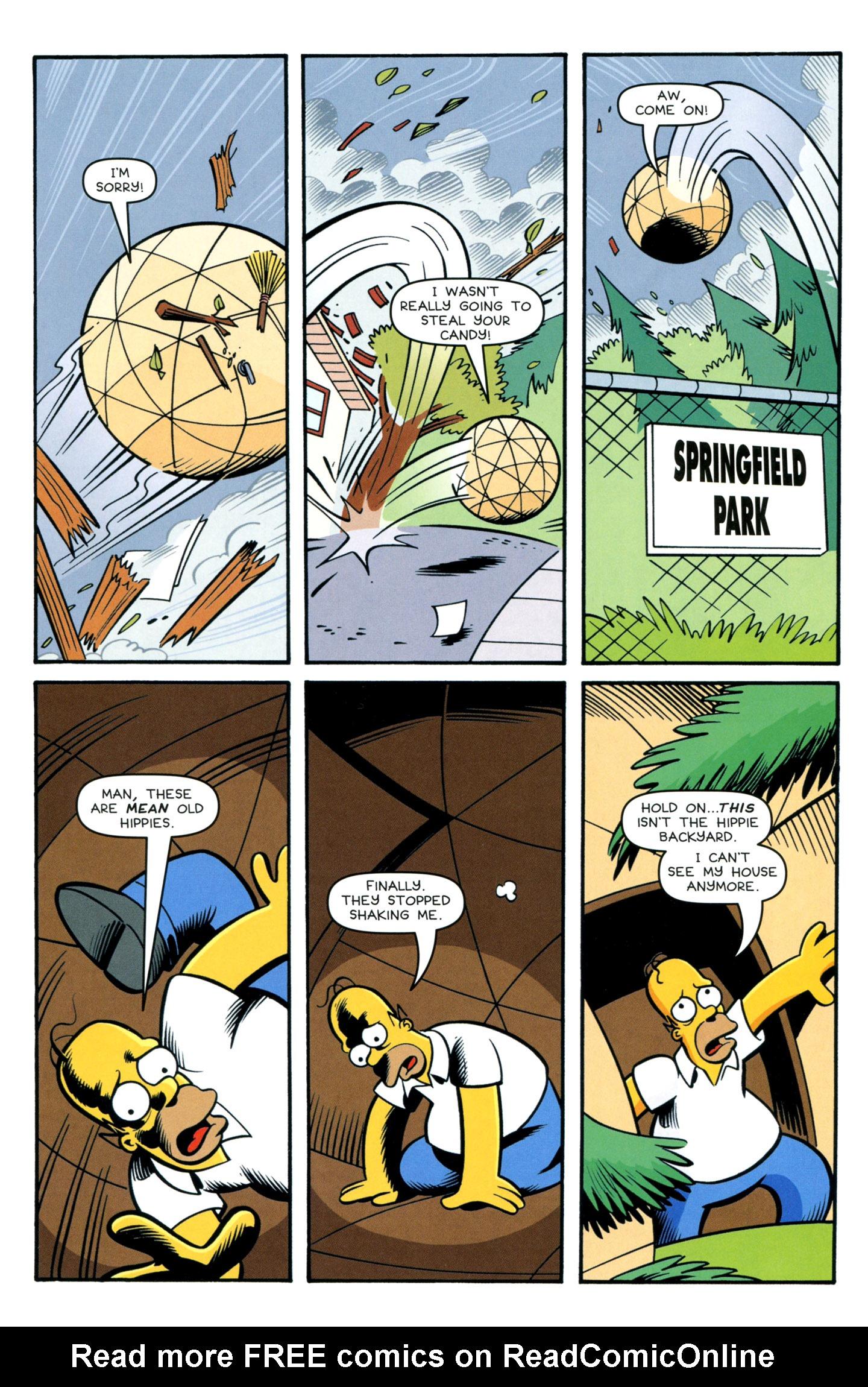 Read online Simpsons Comics comic -  Issue #195 - 9