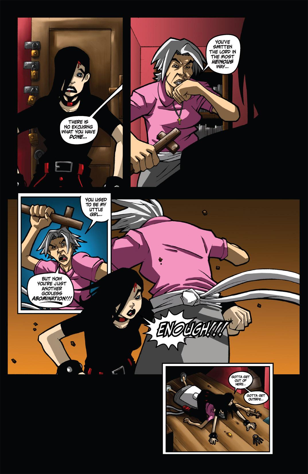 Read online Nightmare World comic -  Issue # Vol. 1 Thirteen Tales of Terror - 76