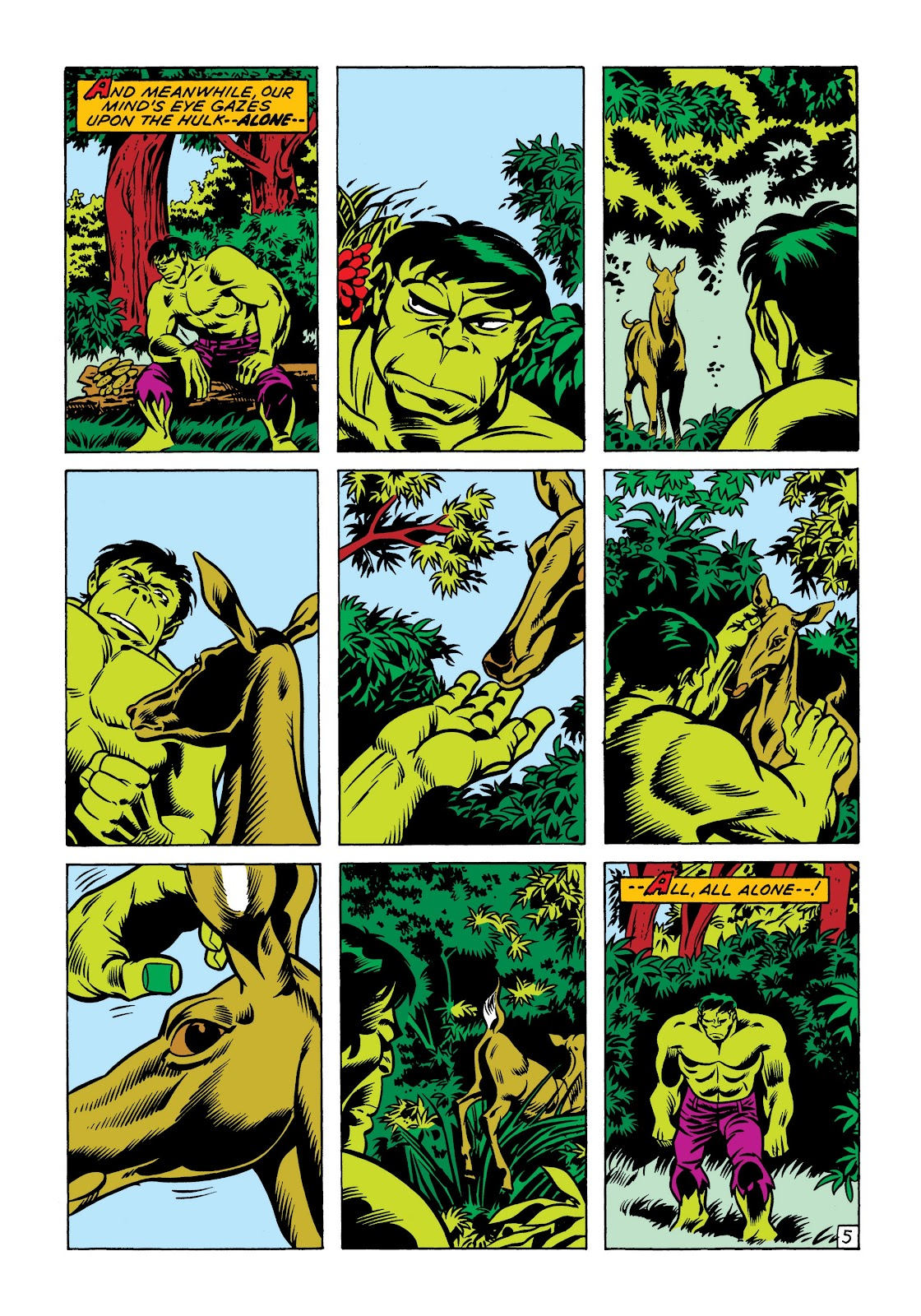 Read online Marvel Masterworks: The Incredible Hulk comic -  Issue # TPB 7 (Part 1) - 92