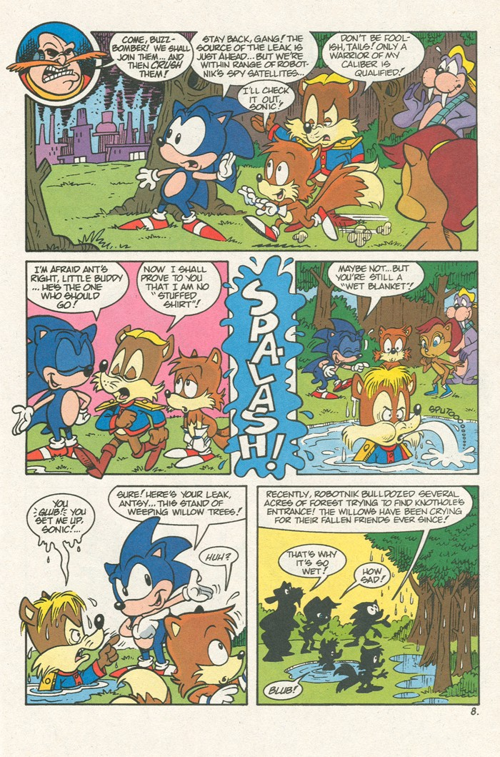 Read online Sonic Super Special comic -  Issue #3 - Sonic Firsts - 10
