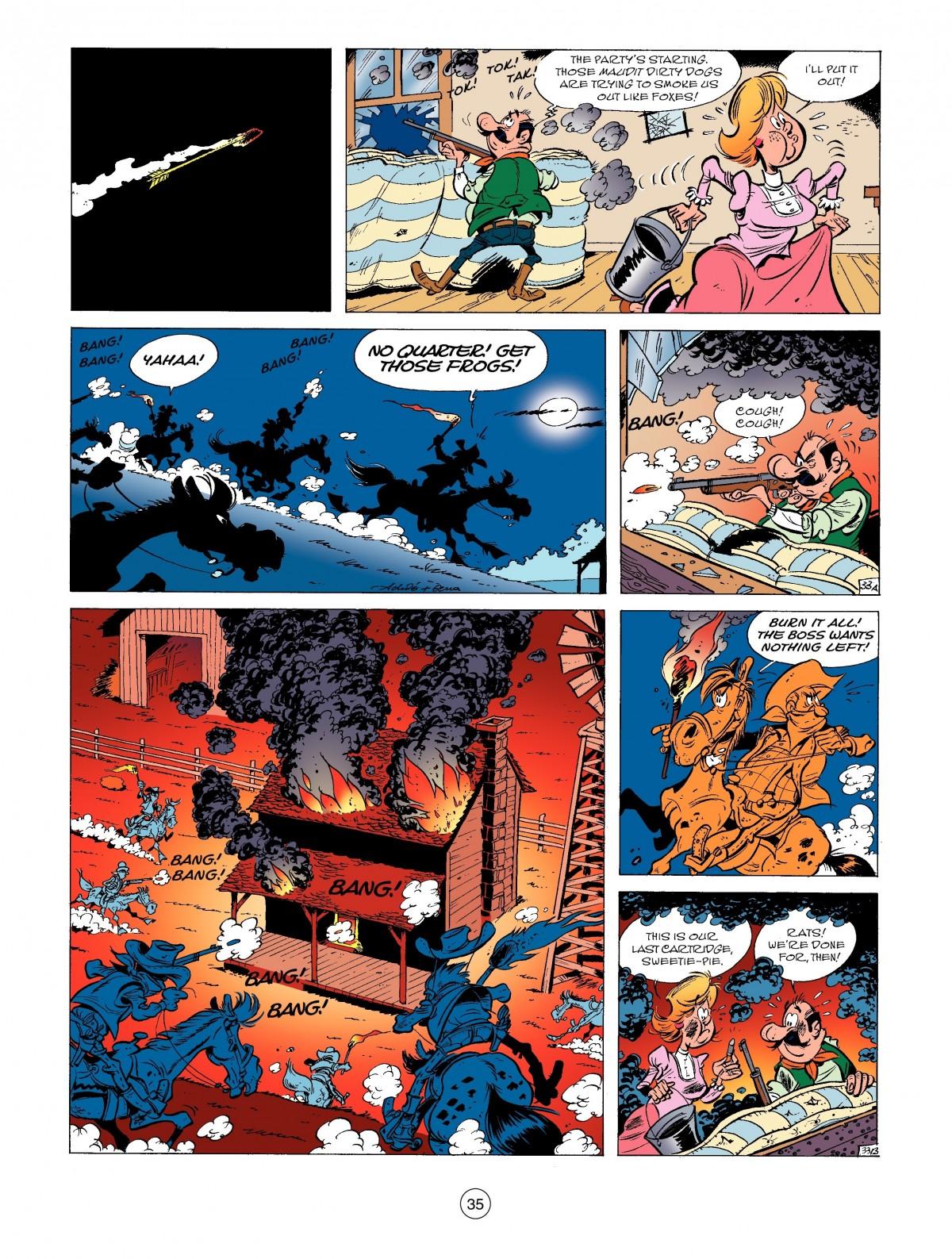 Read online A Lucky Luke Adventure comic -  Issue #52 - 37