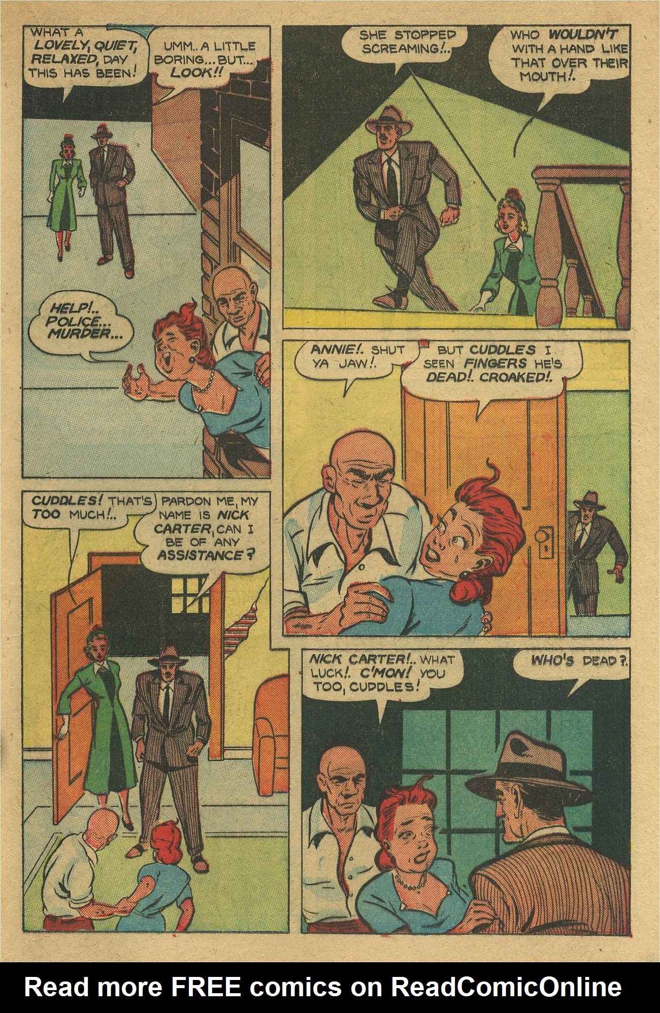 Read online Shadow Comics comic -  Issue #93 - 36