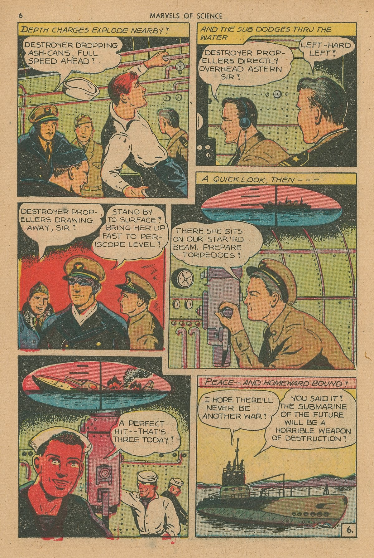 Marvels Of Science 4 Page 7
