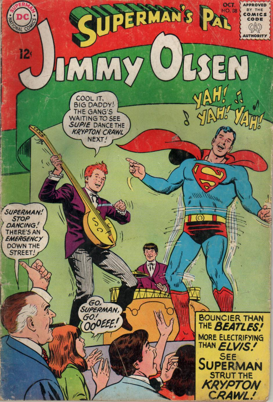 Supermans Pal Jimmy Olsen (1954) 88 Page 1