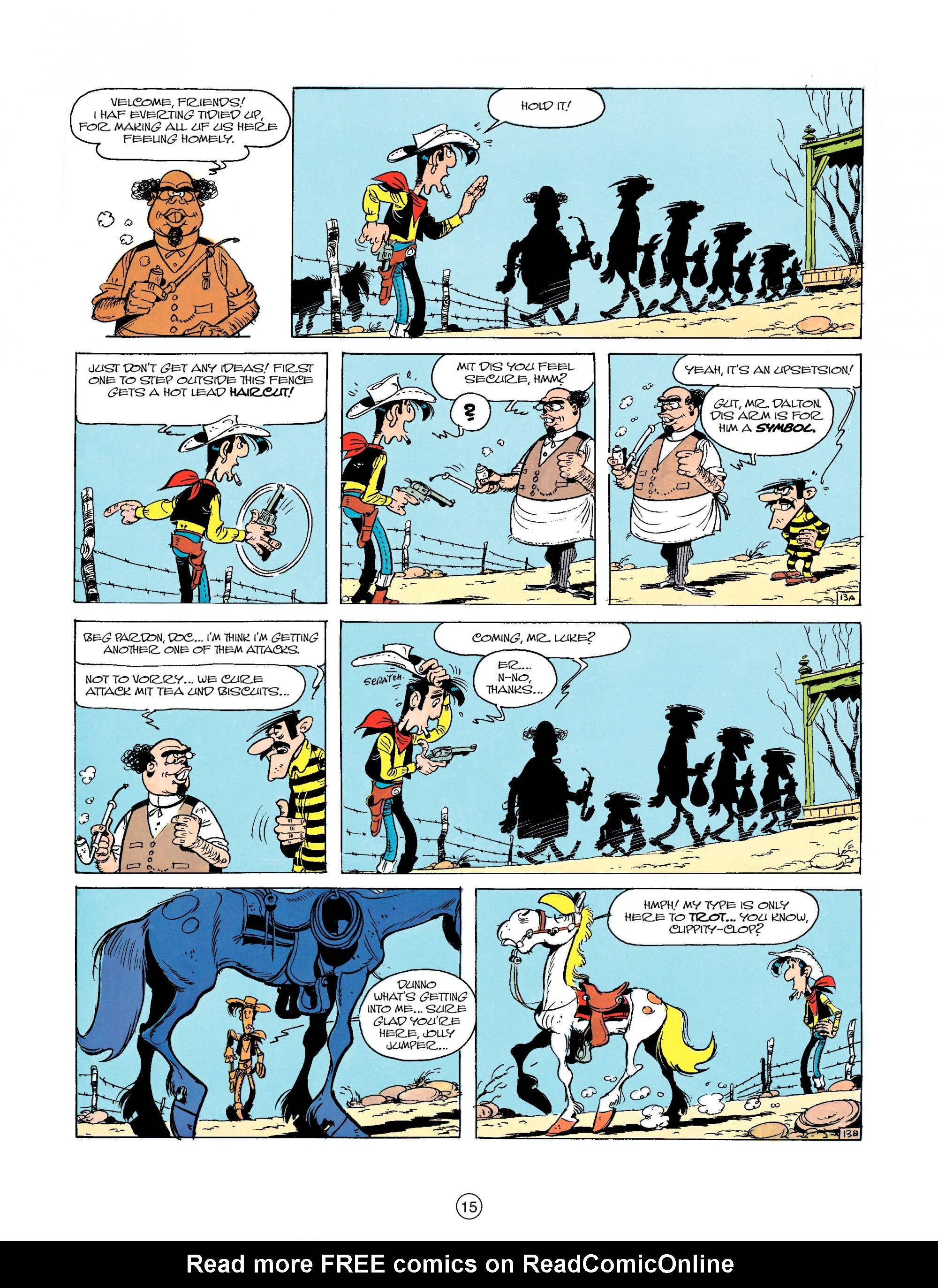 Read online A Lucky Luke Adventure comic -  Issue #23 - 15