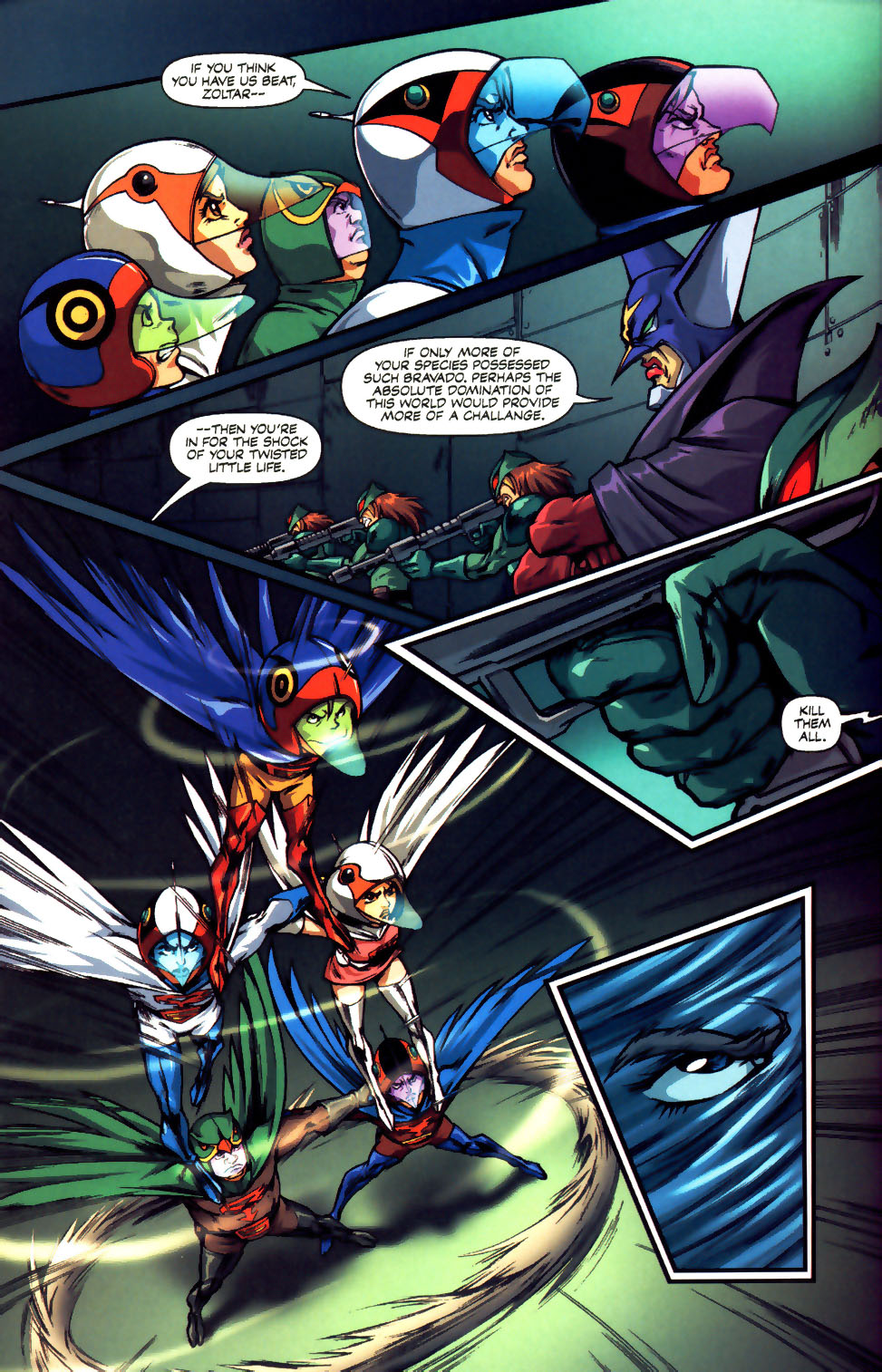 Battle of the Planets Issue #12 #14 - English 32