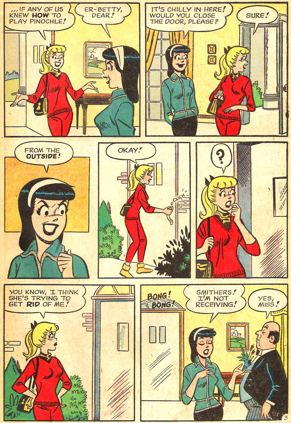 Read online Archie's Girls Betty and Veronica comic -  Issue #87 - 31