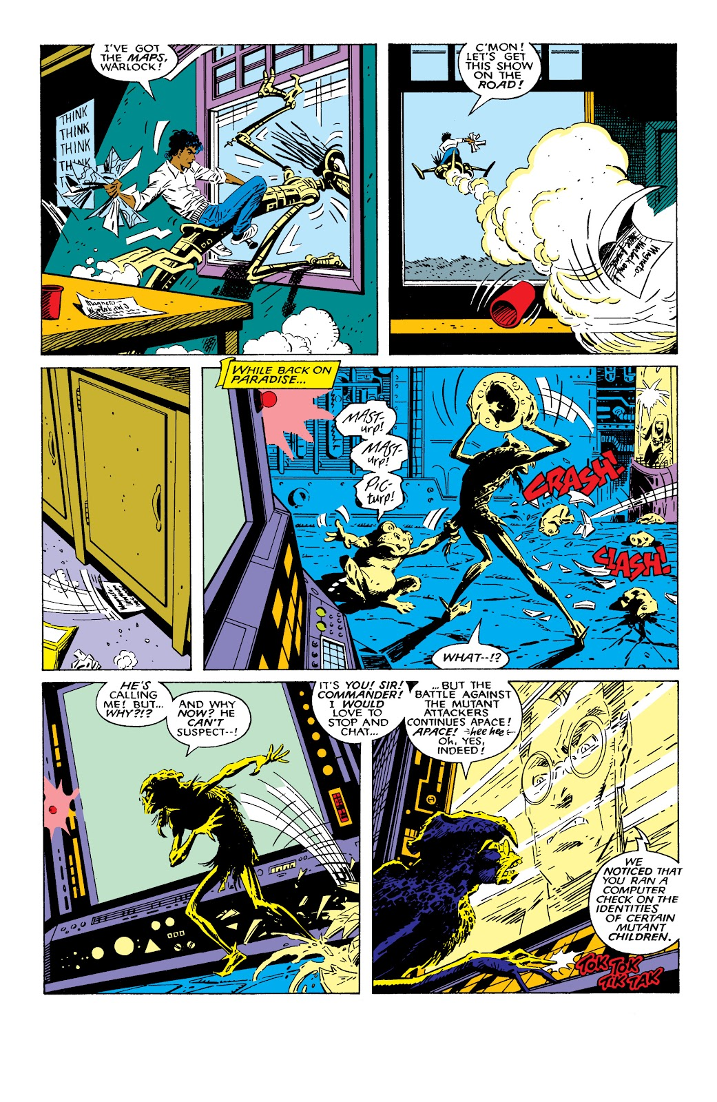 Read online X-Men Milestones: Fall of the Mutants comic -  Issue # TPB (Part 2) - 29