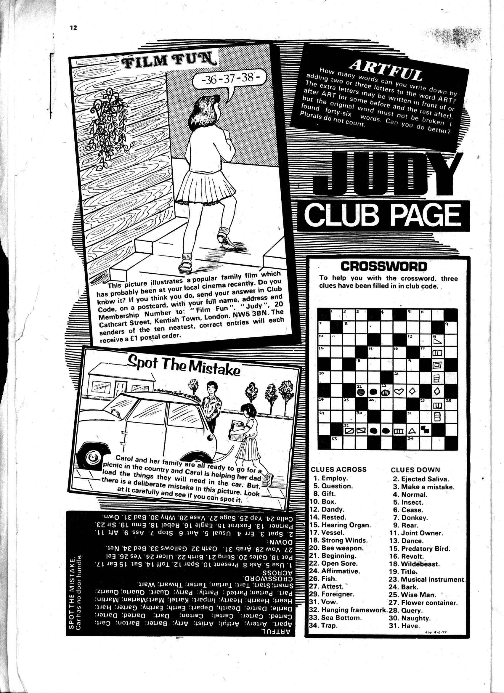 Read online Judy comic -  Issue #13 - 12