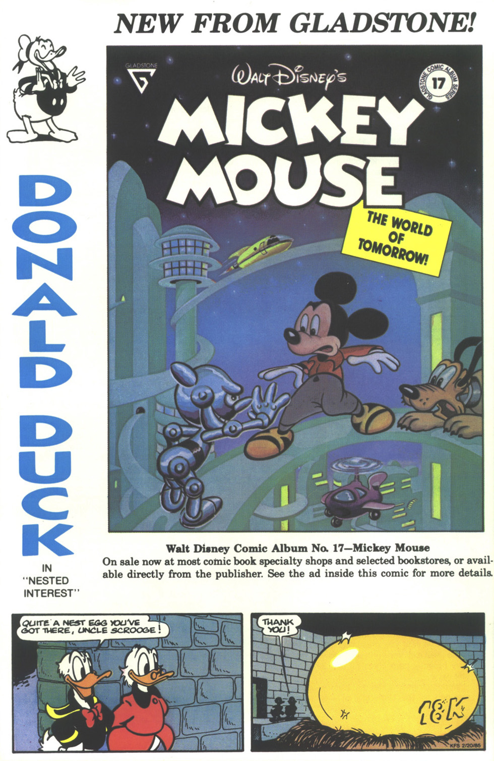 Walt Disney's Donald Duck (1986) issue 273 - Page 36