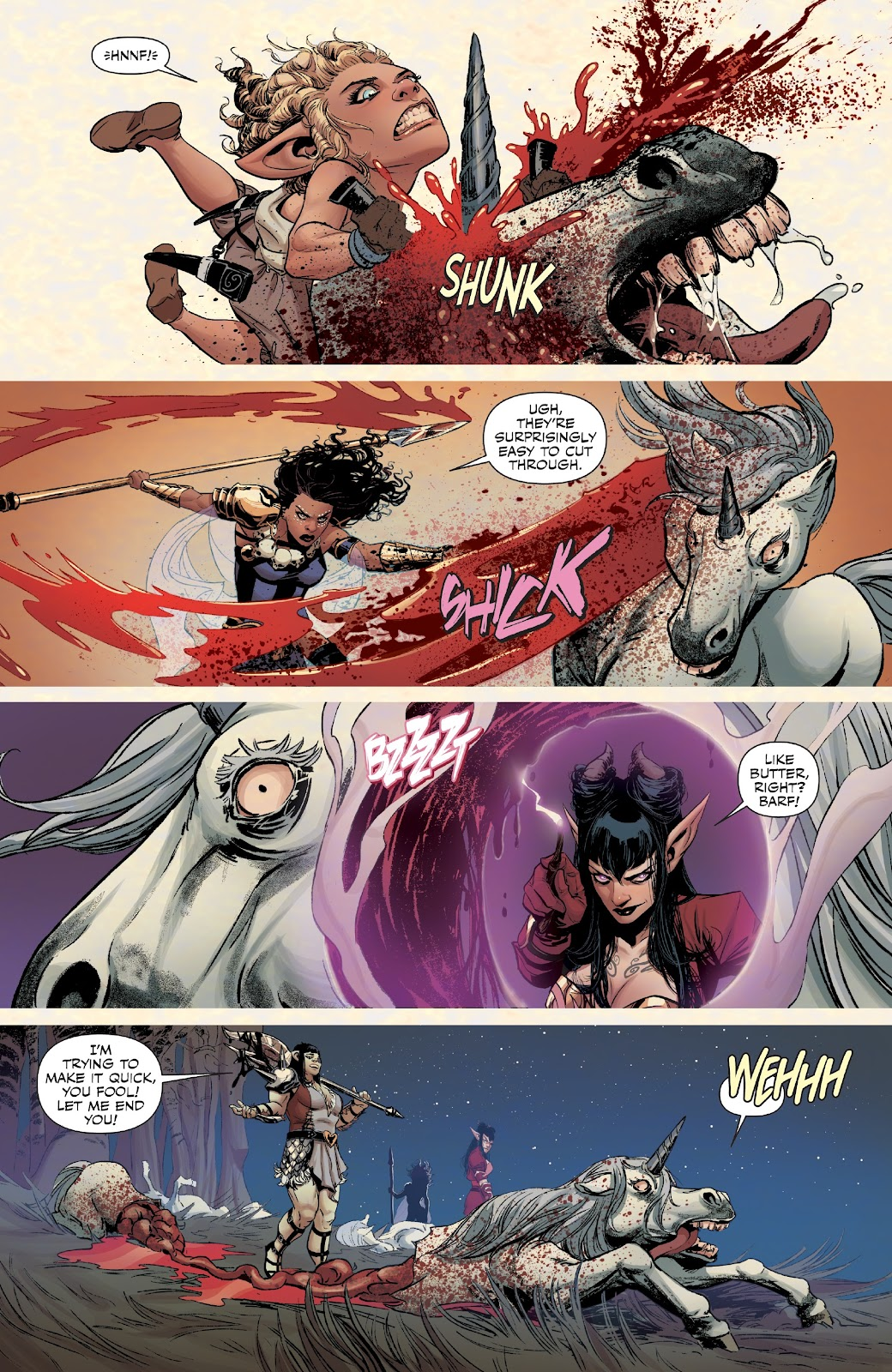 Read online Rat Queens Special: Swamp Romp comic -  Issue # Full - 20