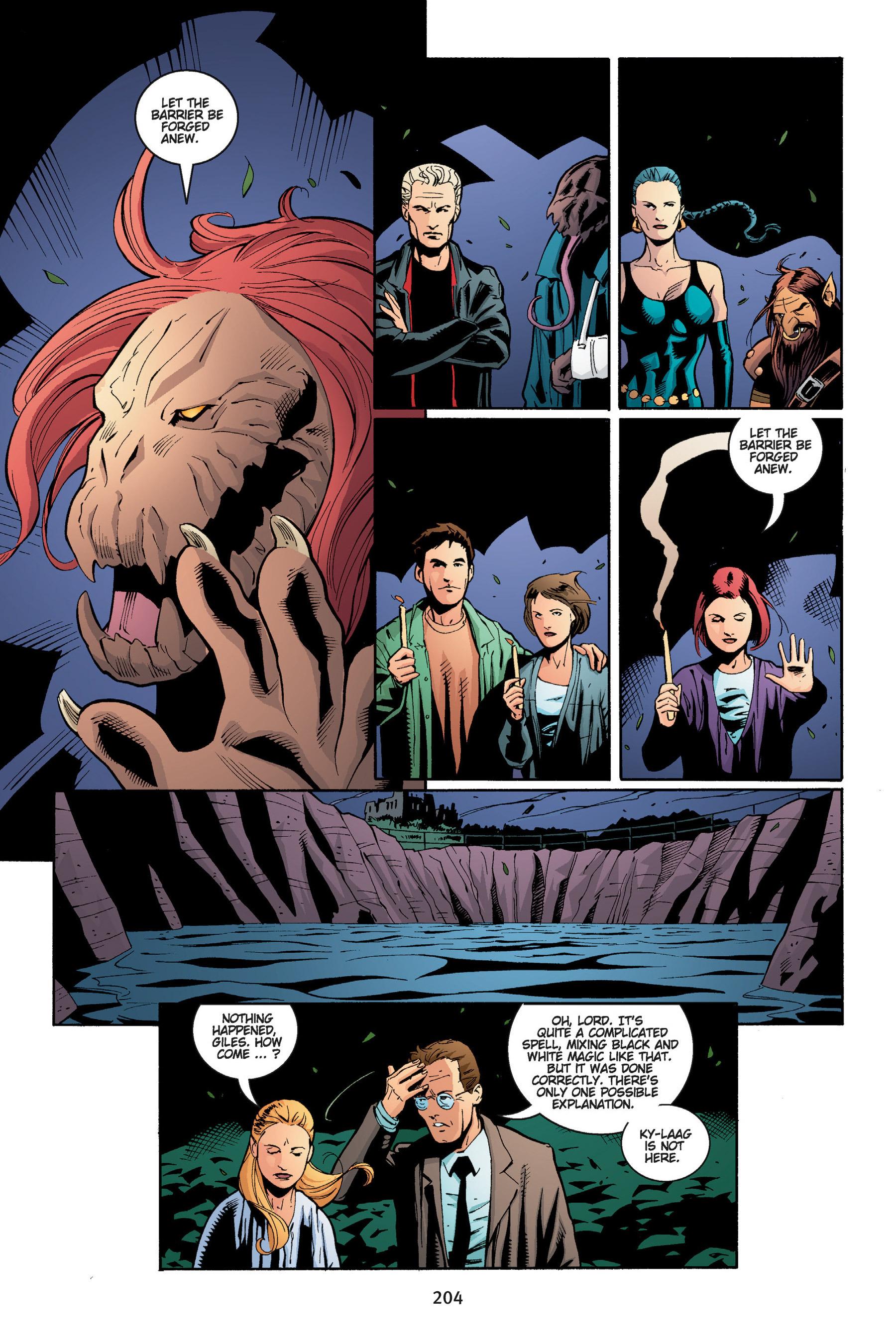 Read online Buffy the Vampire Slayer: Omnibus comic -  Issue # TPB 5 - 204